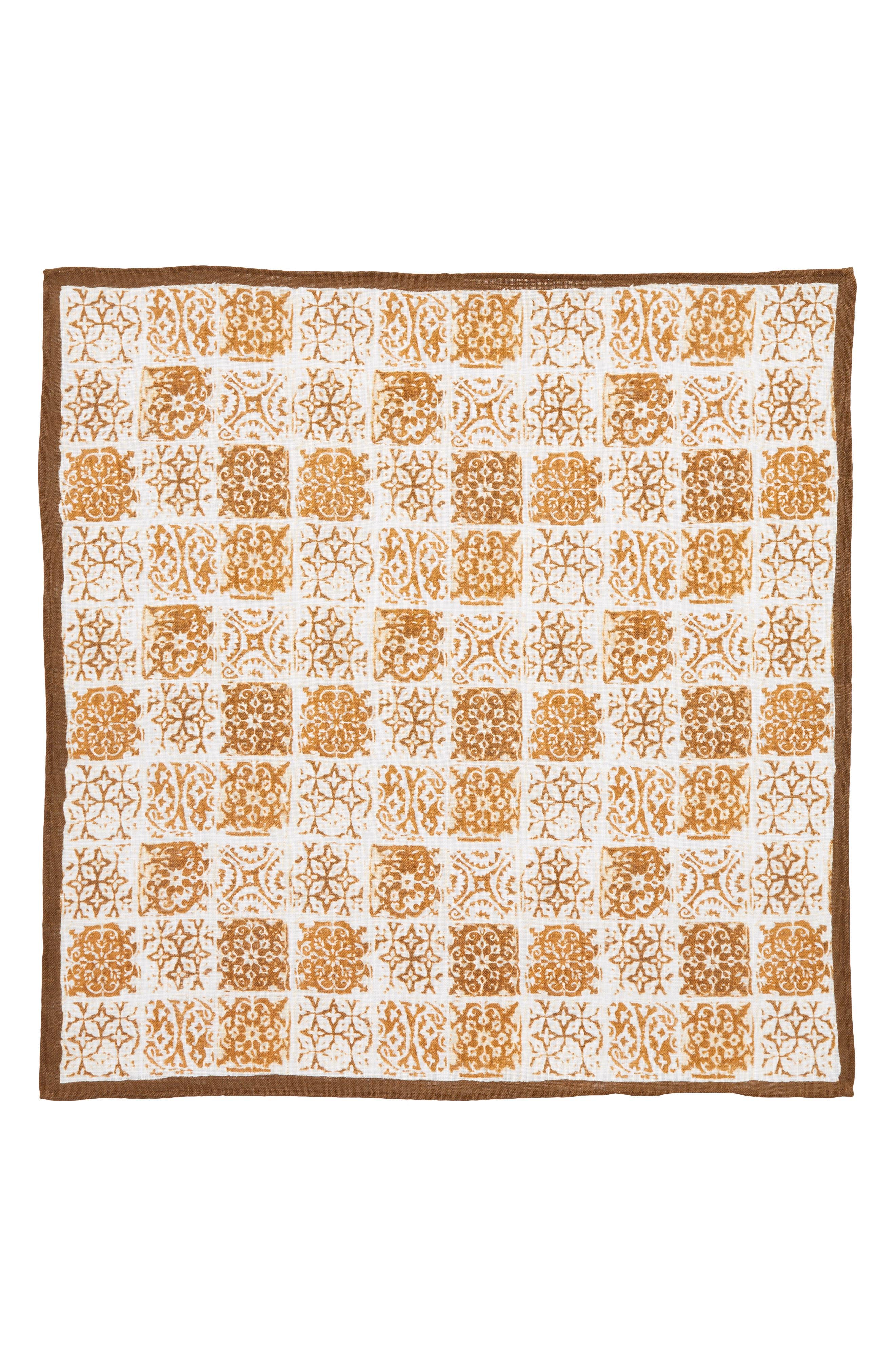 Linen Pocket Square,                             Alternate thumbnail 2, color,                             213