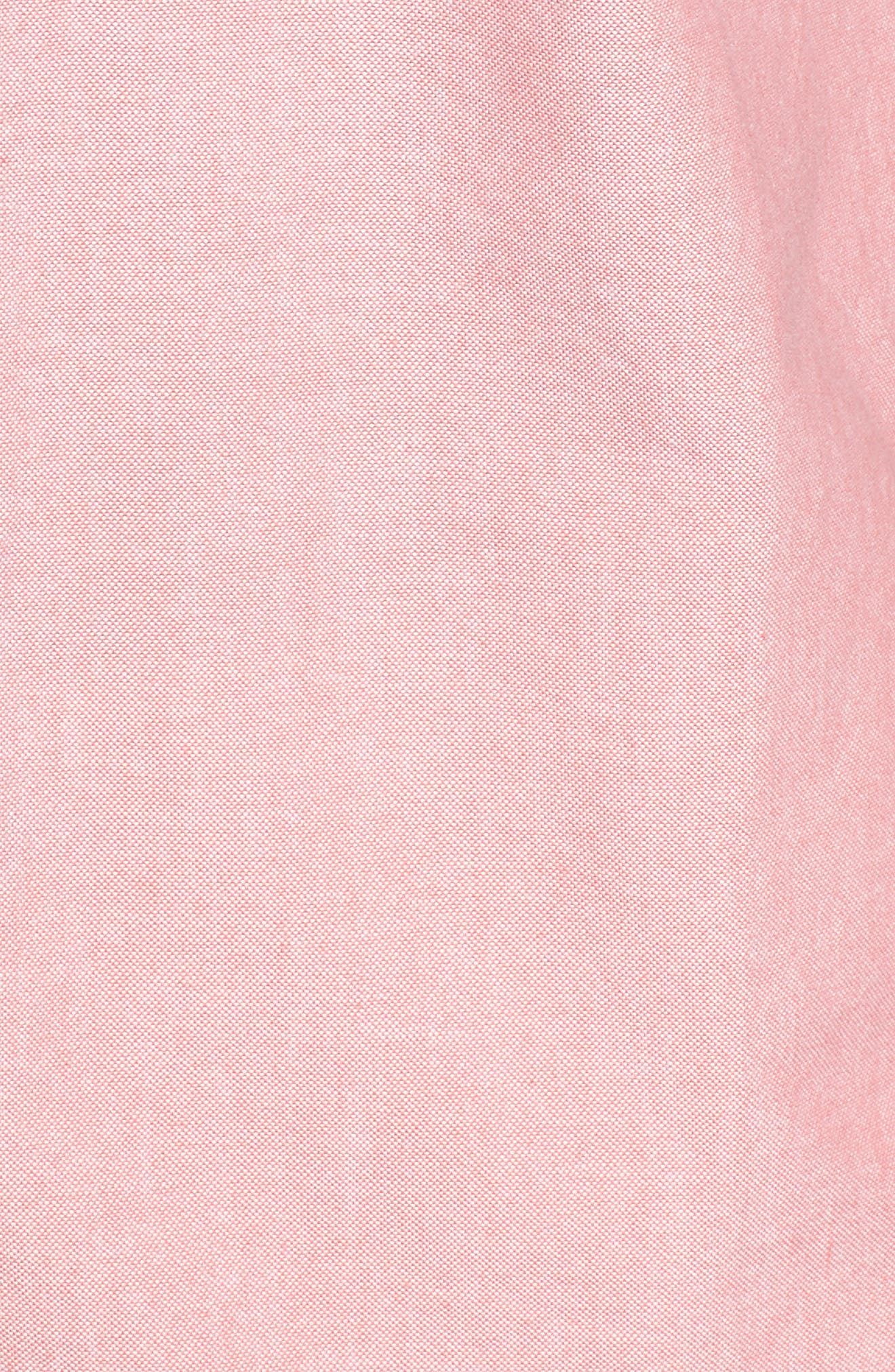 Houser Solid Woven Shirt,                             Alternate thumbnail 5, color,                             950