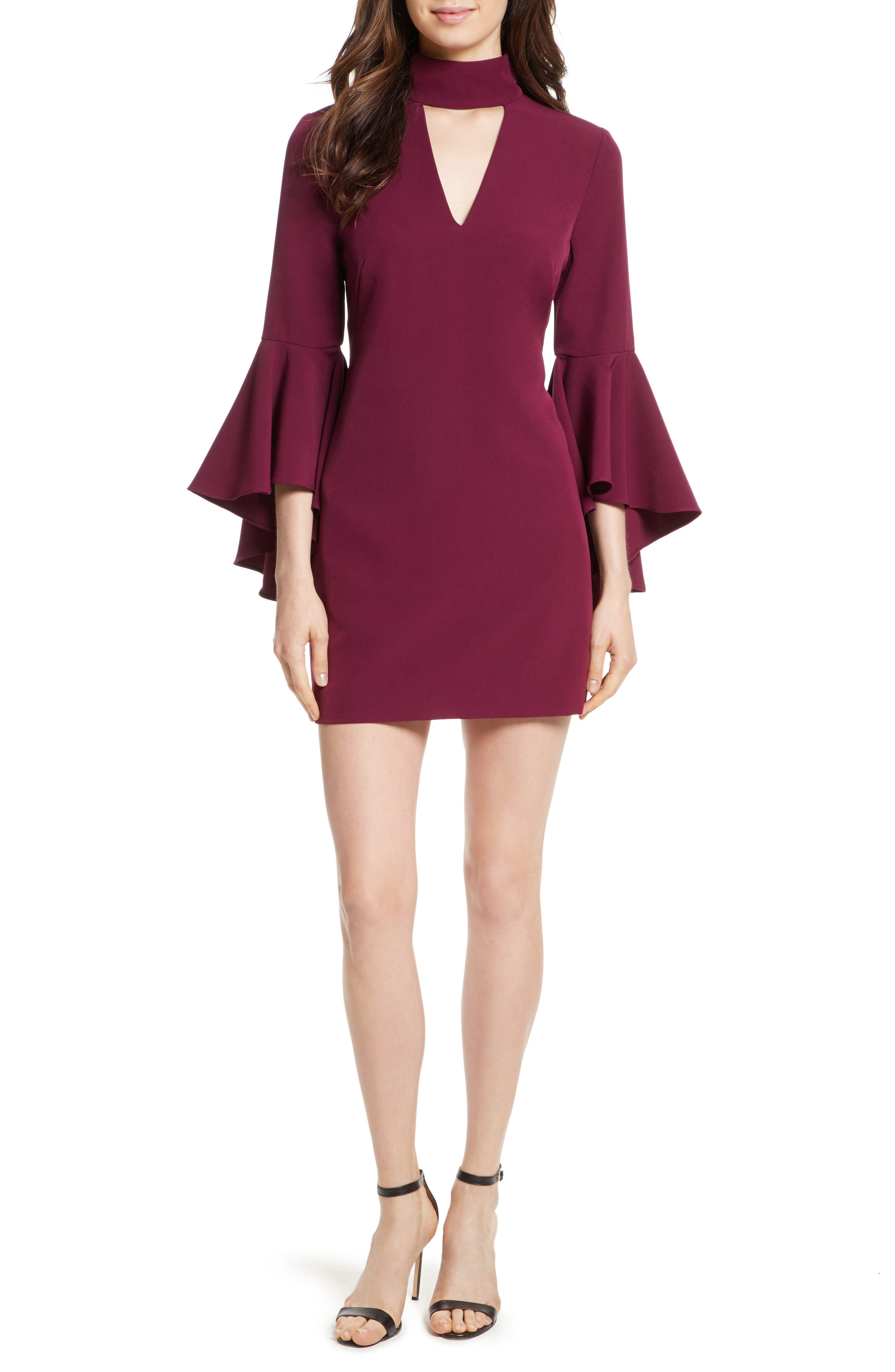 Andrea Italian Cady A-Line Dress,                         Main,                         color, 931