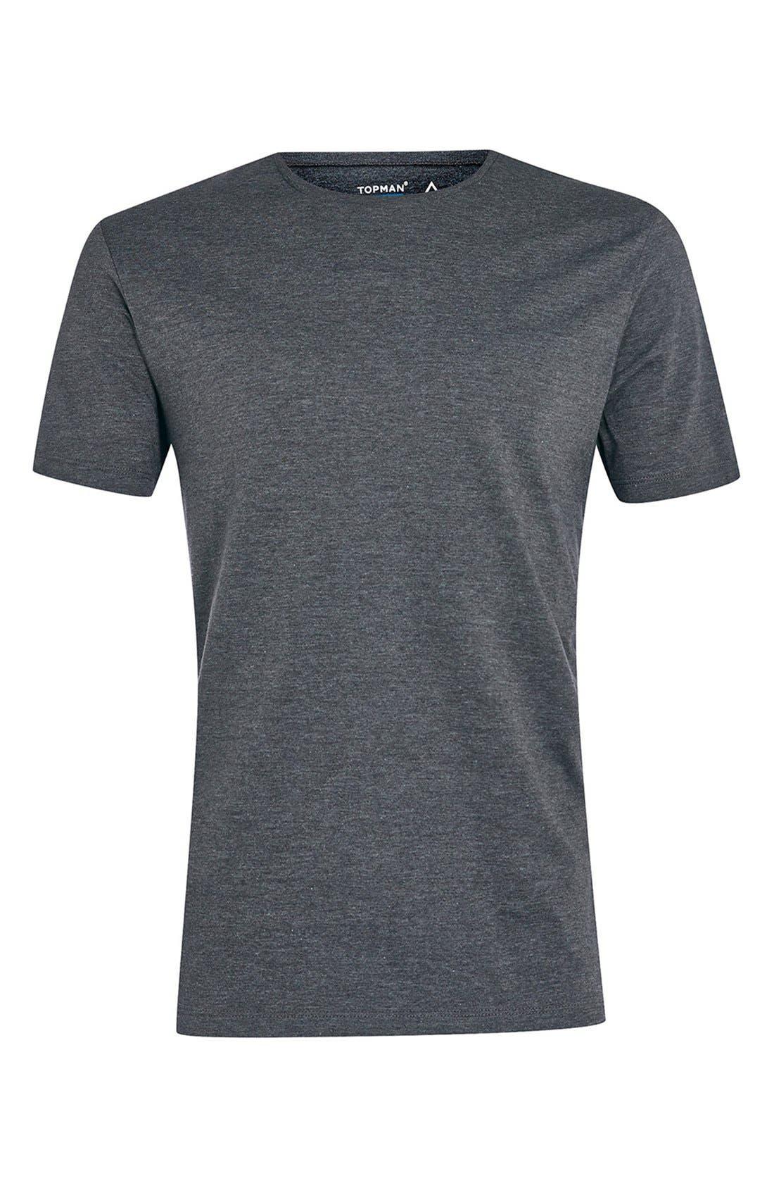Slim Fit Crewneck T-Shirt,                             Alternate thumbnail 132, color,