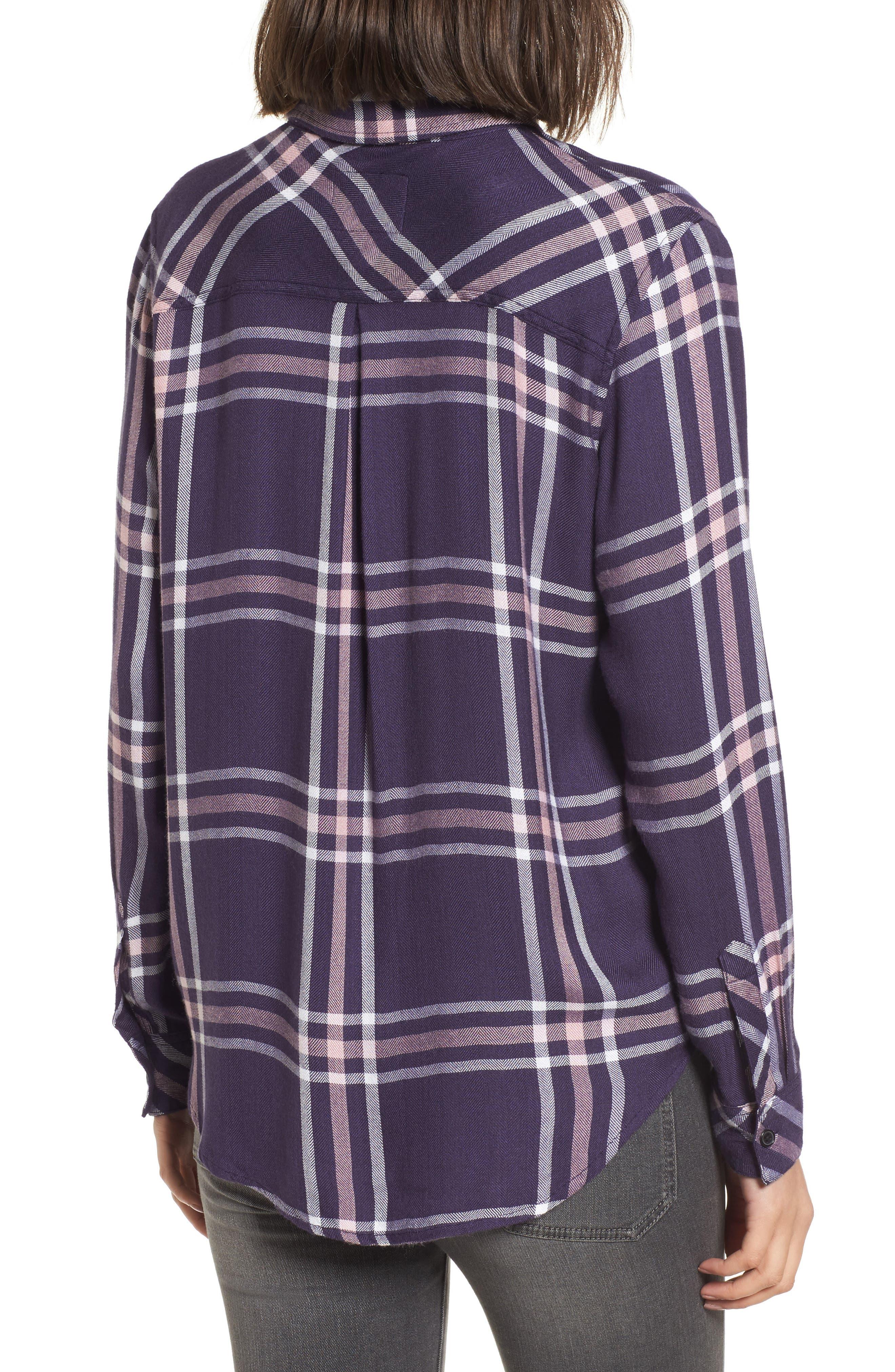 Hunter Plaid Shirt,                             Alternate thumbnail 185, color,