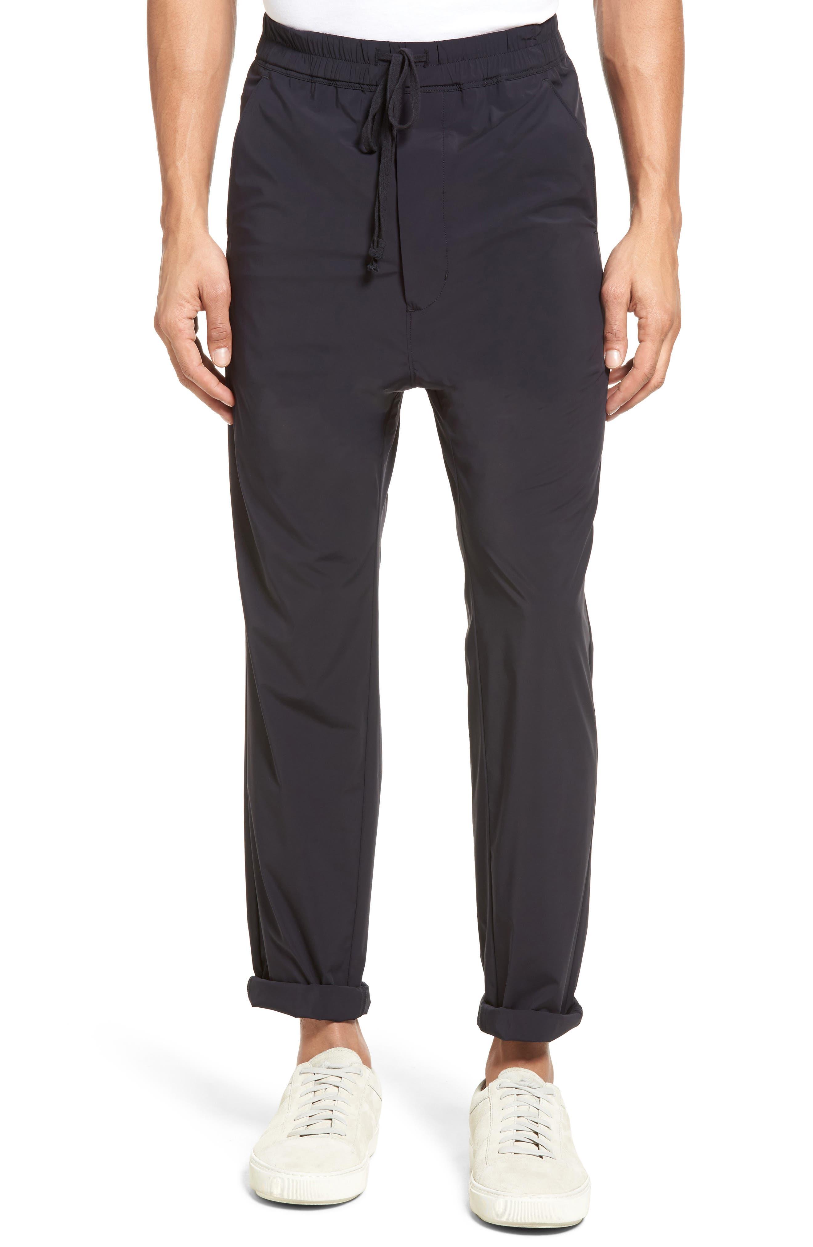 Drop Crotch Jogger Pants,                         Main,                         color, 001