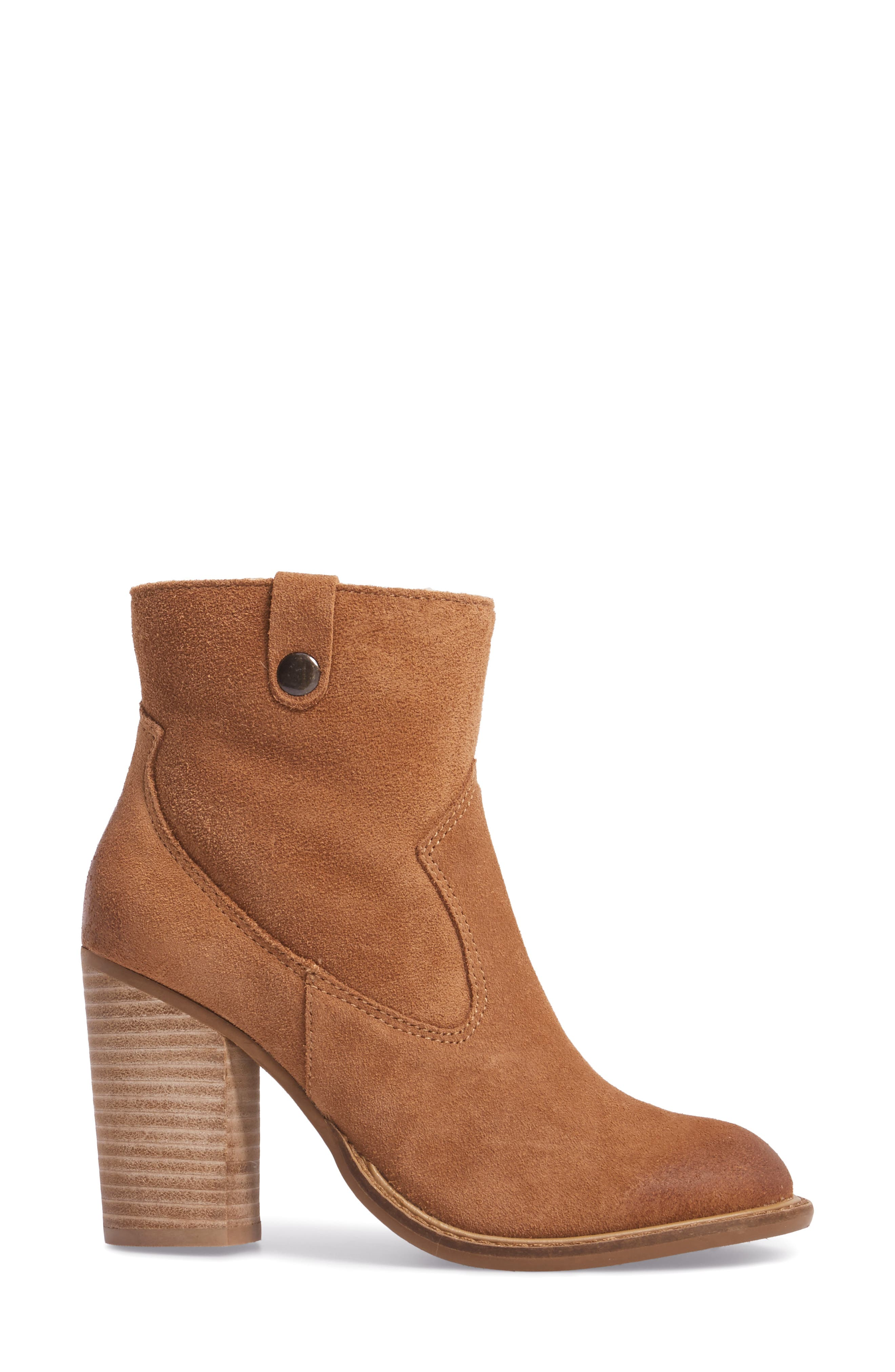 Legion Bootie with Faux Shearling Lining,                             Alternate thumbnail 6, color,