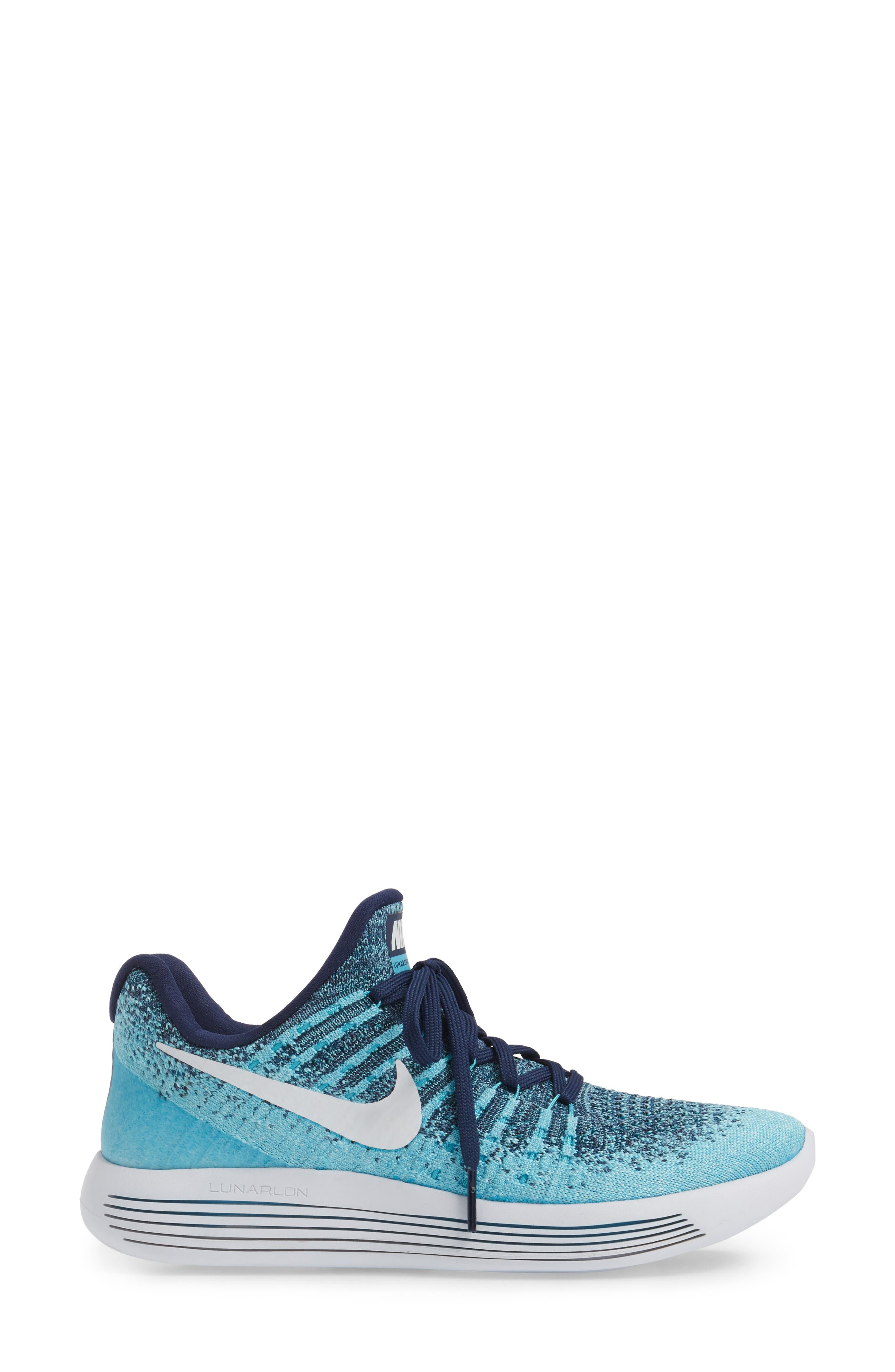 LunarEpic Low Flyknit 2 Running Shoe,                             Alternate thumbnail 55, color,