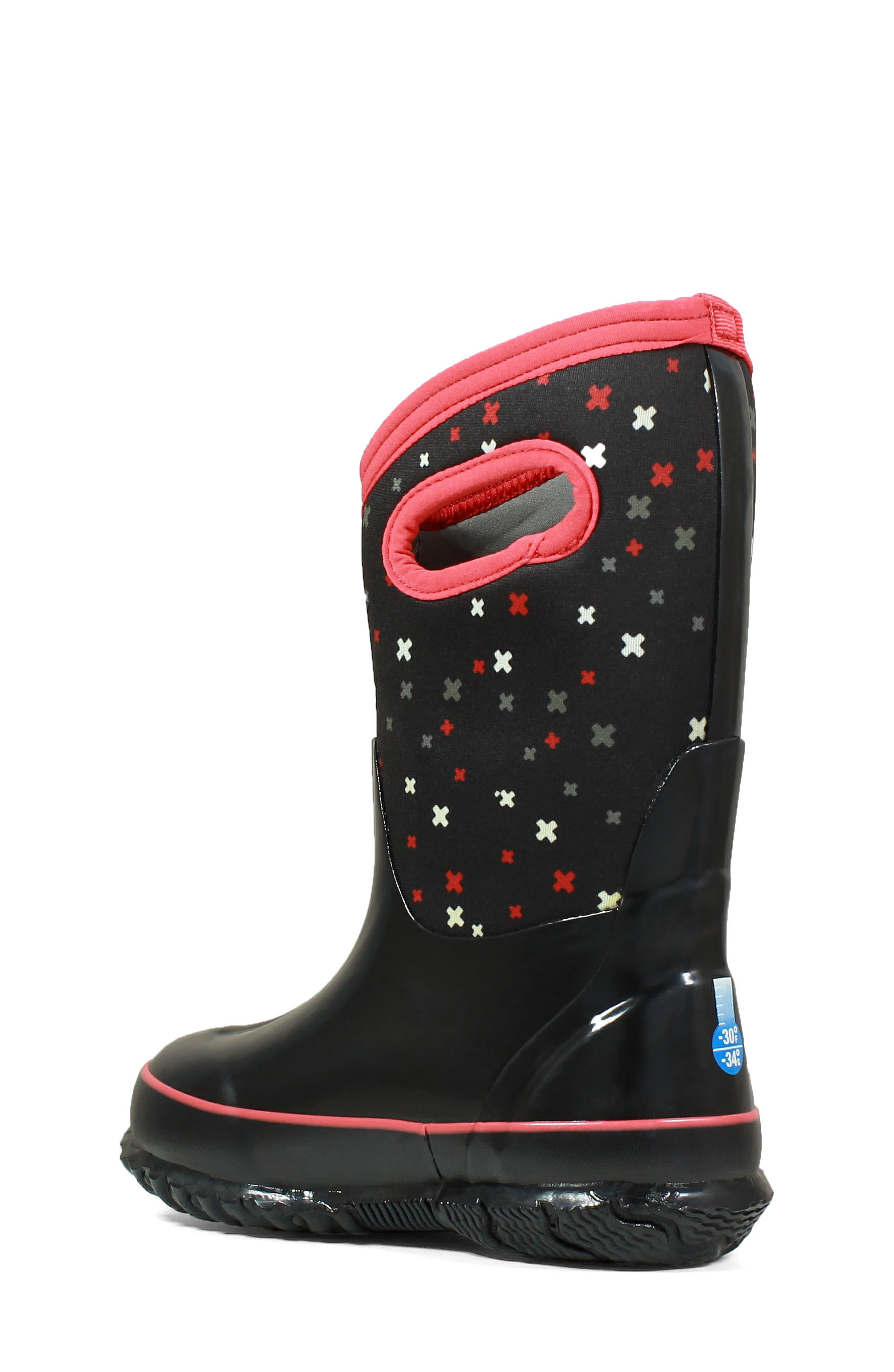 Classic Print Insulated Waterproof Boot,                             Alternate thumbnail 2, color,                             009