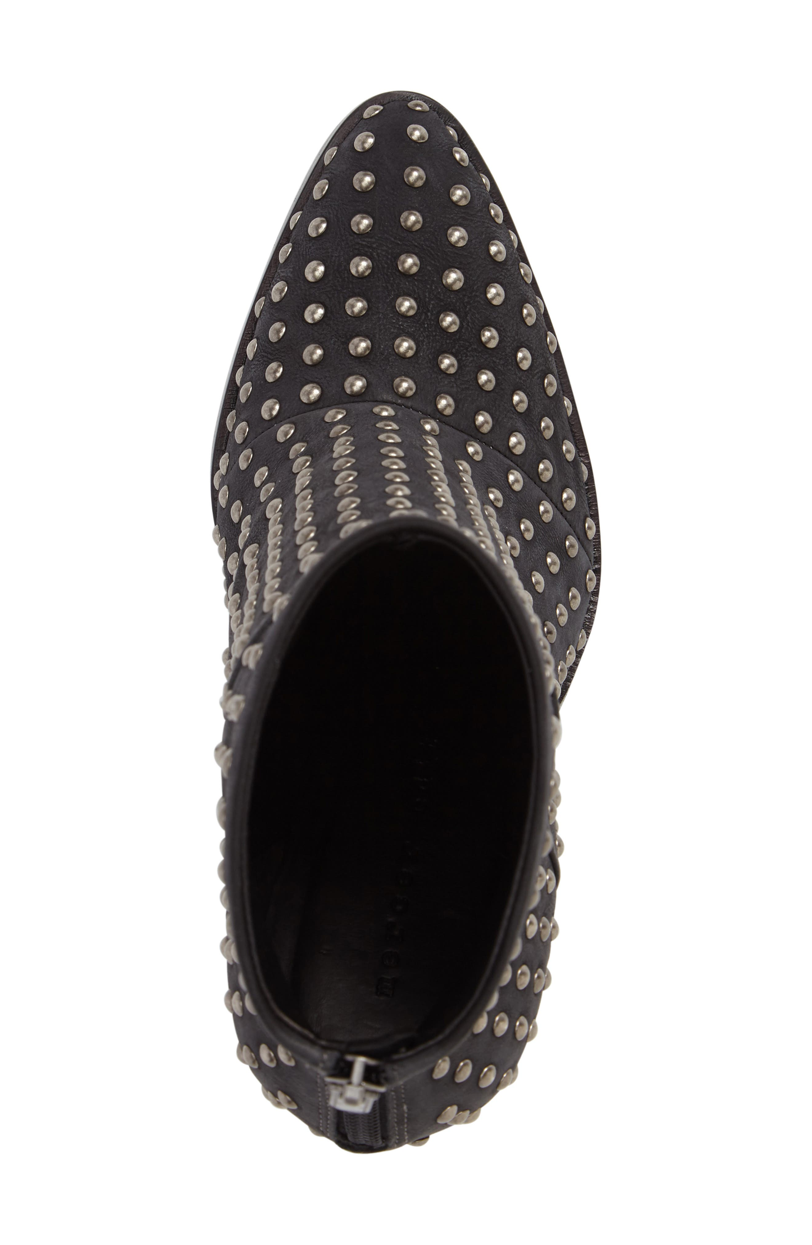 Full Monty Studded Bootie,                             Alternate thumbnail 5, color,                             001