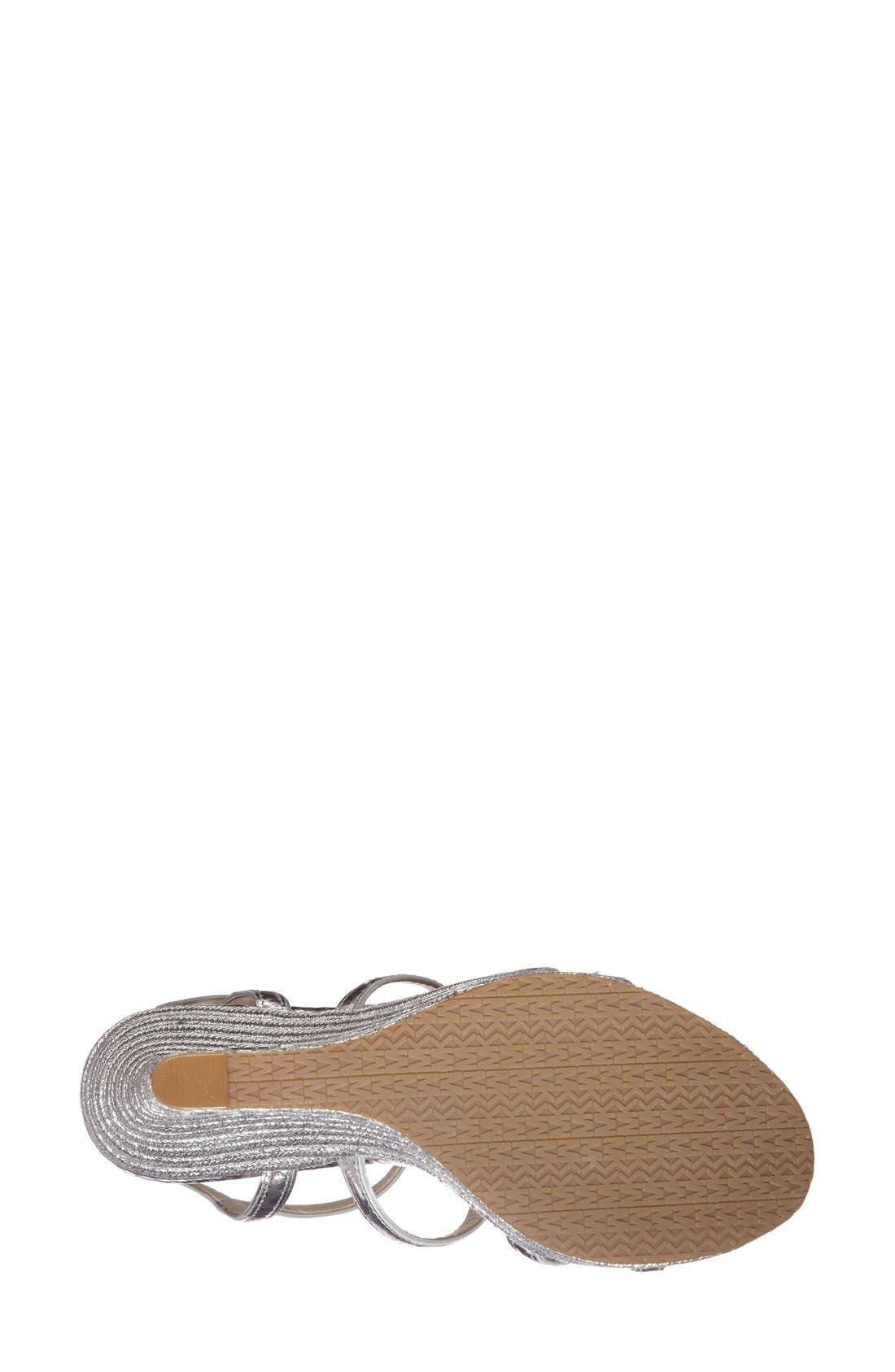 'Jayden' Espadrille Wedge,                             Alternate thumbnail 3, color,                             040