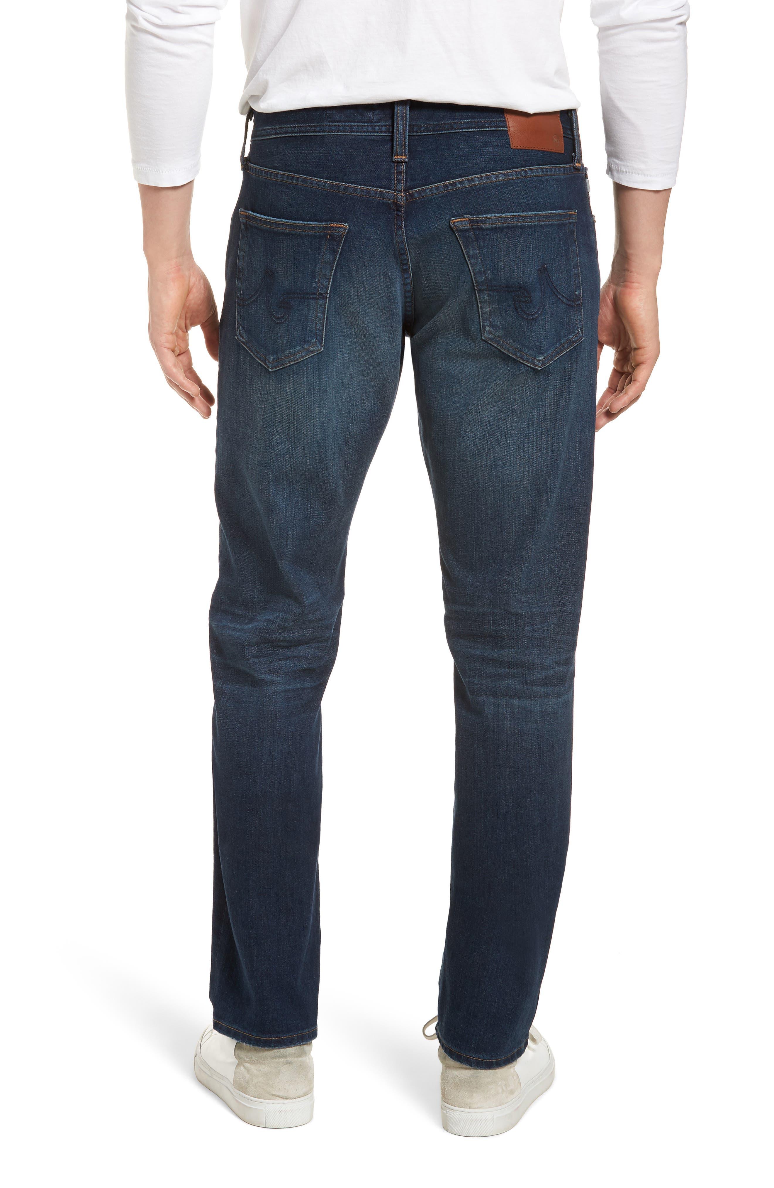 Graduate Slim Straight Leg Jeans,                             Alternate thumbnail 2, color,