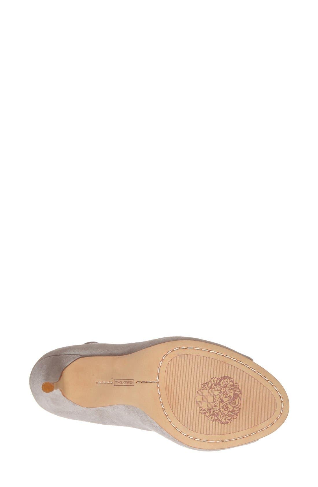 'Sandria' Peep Toe Ghillie Sandal,                             Alternate thumbnail 27, color,
