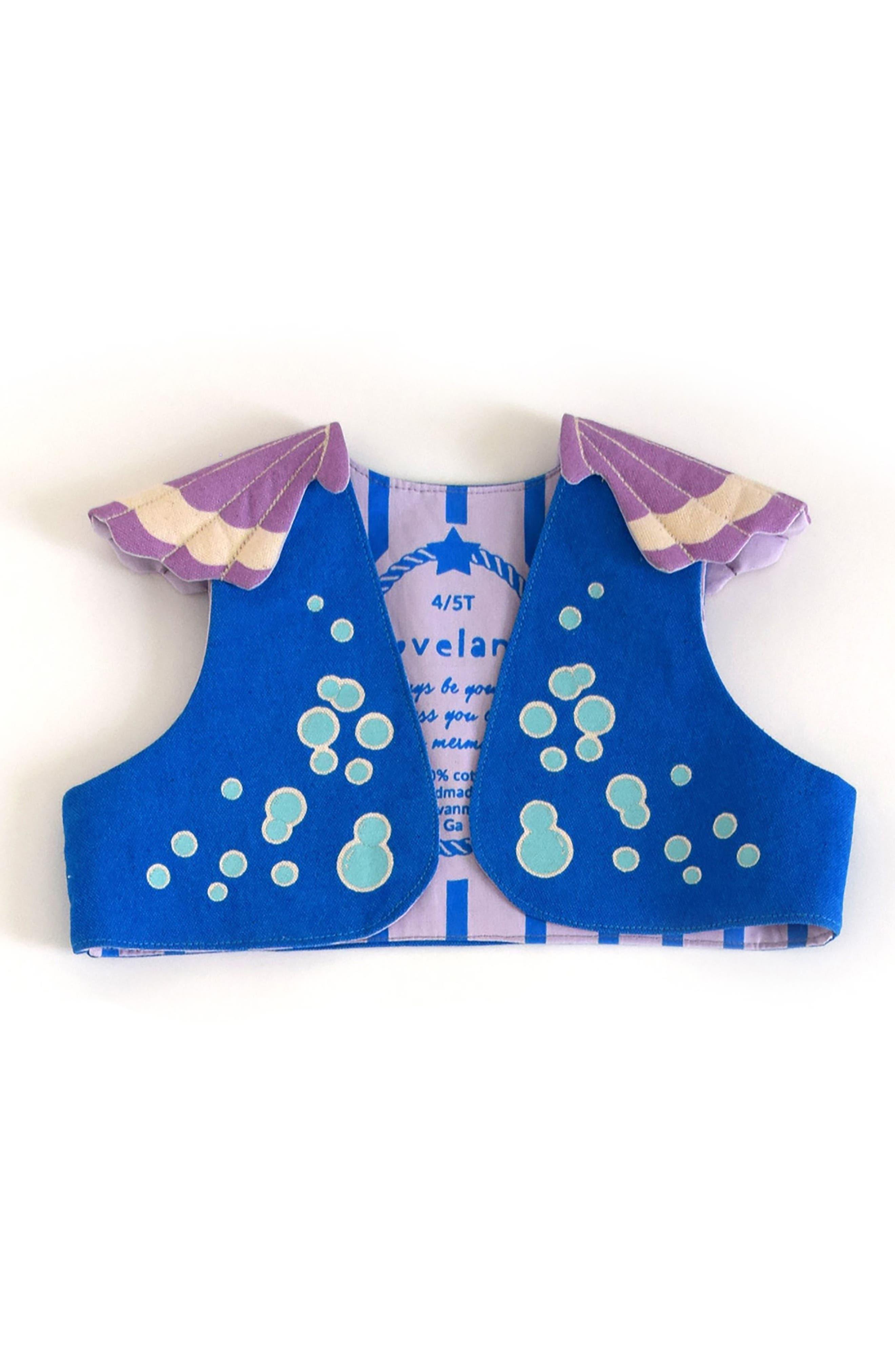 LOVELANE,                             Mermaid Costume Set,                             Alternate thumbnail 4, color,                             400