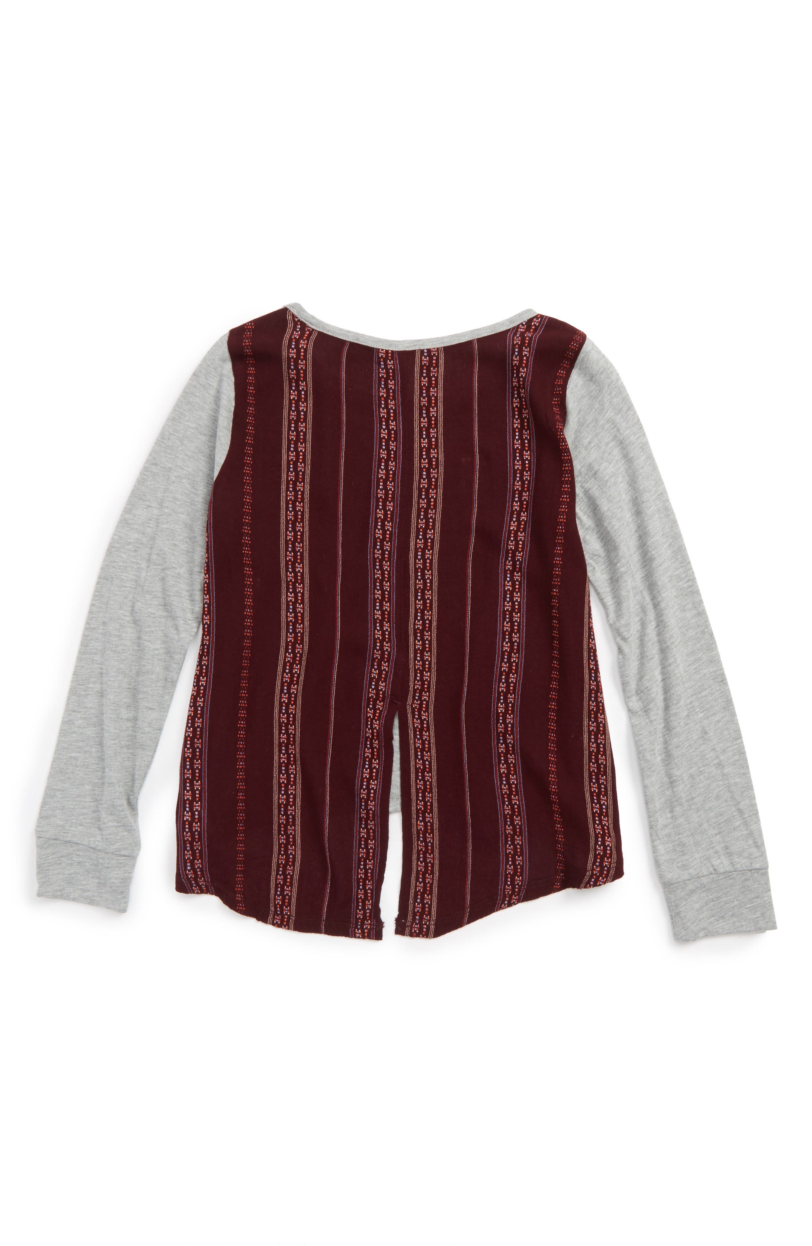 Embroidered Back Shirt,                             Alternate thumbnail 2, color,                             030