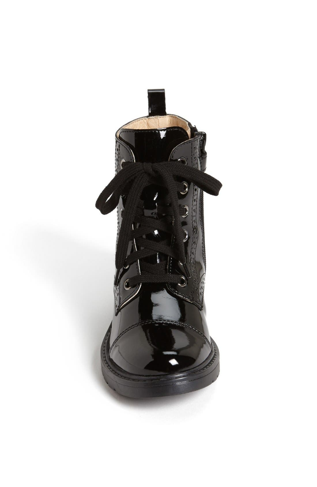 NATURINO,                             Lace Up Boot,                             Alternate thumbnail 2, color,                             001