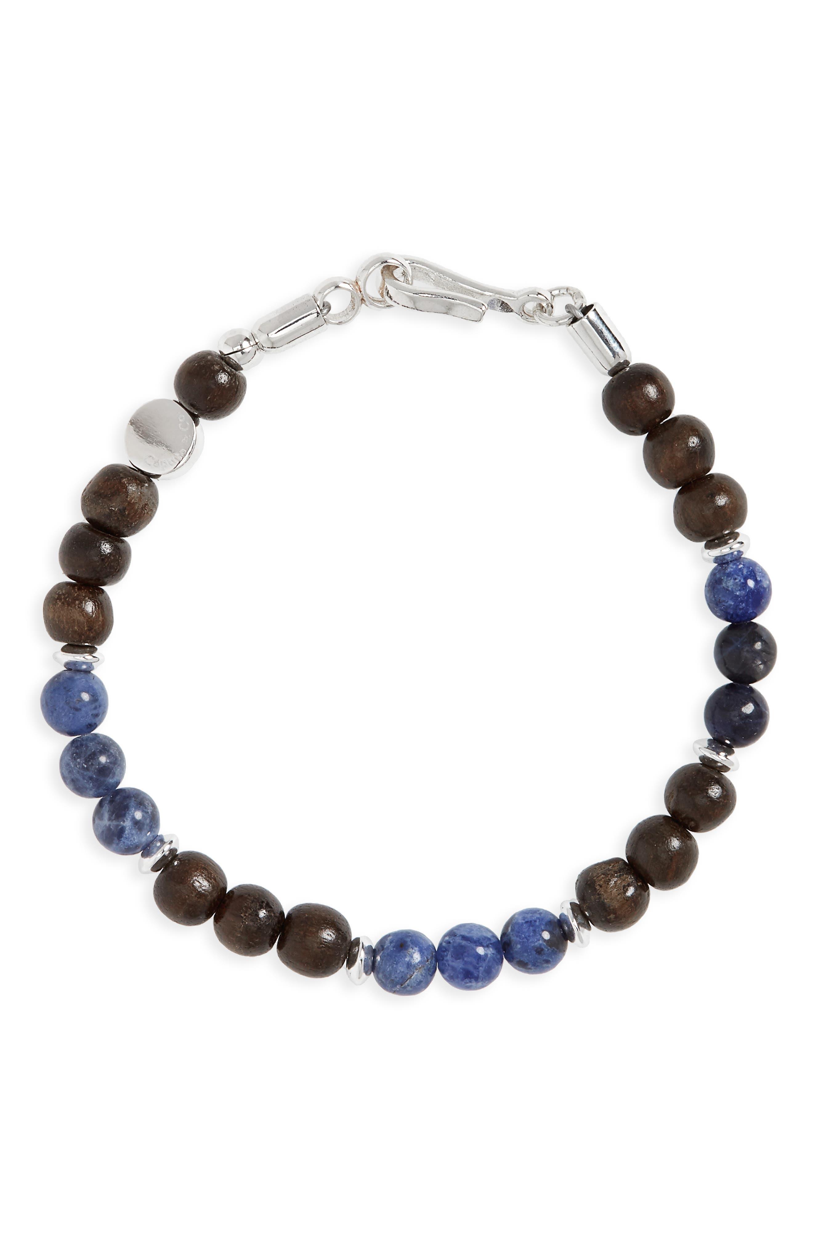 Ubud Stone Bead Bracelet,                         Main,                         color,