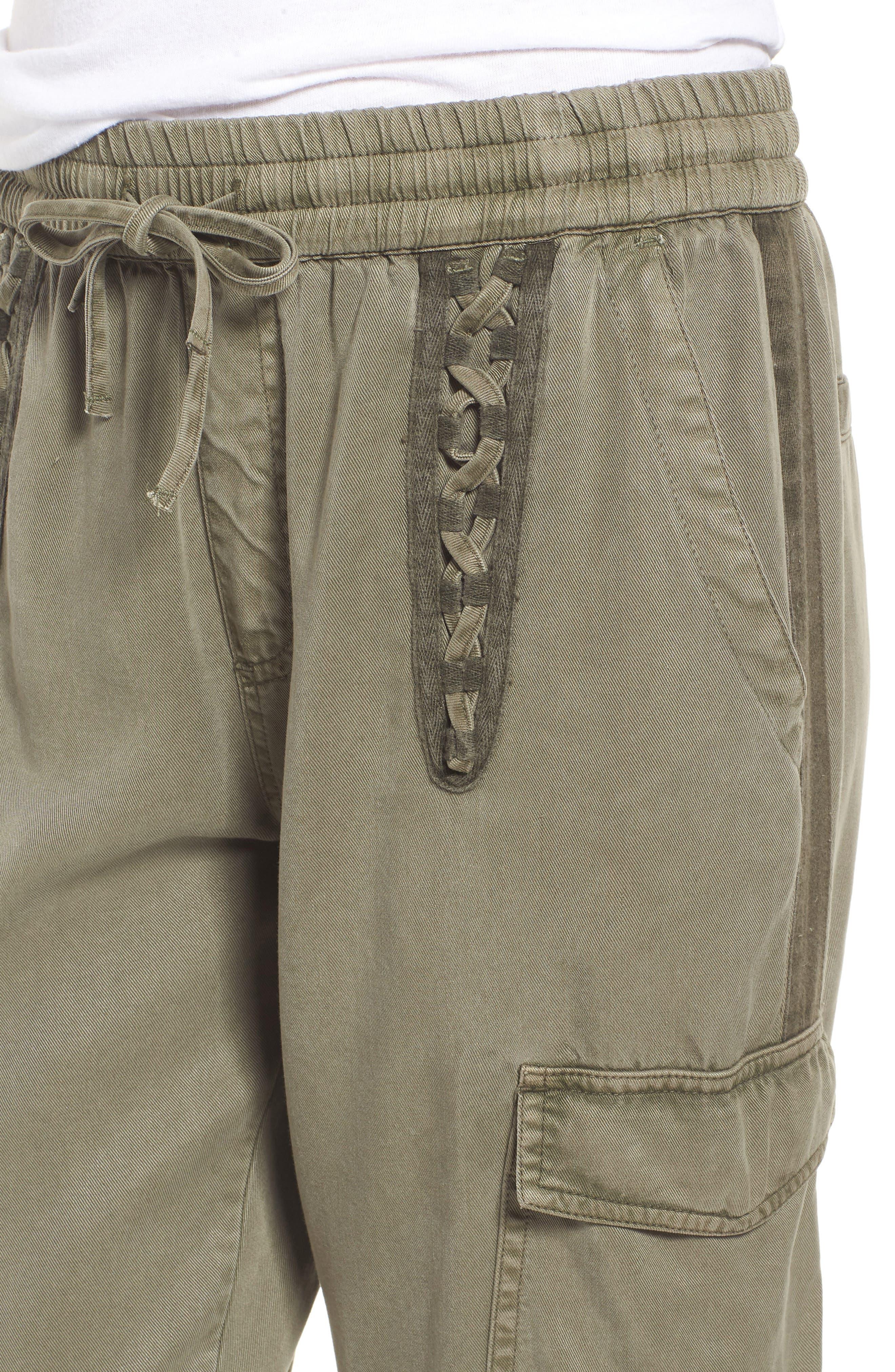 Cargo Jogger Pants,                             Alternate thumbnail 4, color,                             FREEDOM GREEN