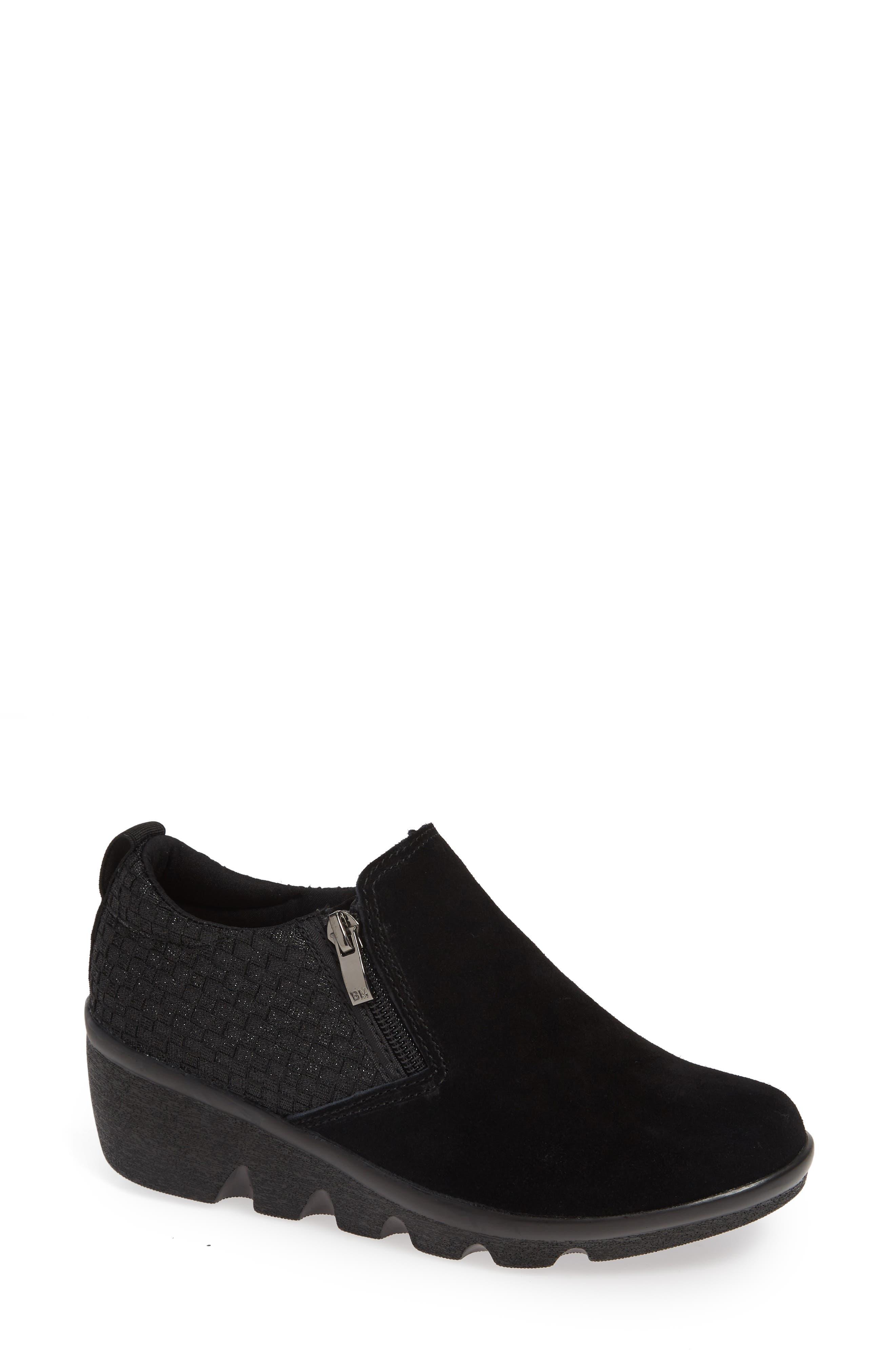 Lihi Ankle Boot,                             Main thumbnail 1, color,                             BLACK METALLIC LEATHER
