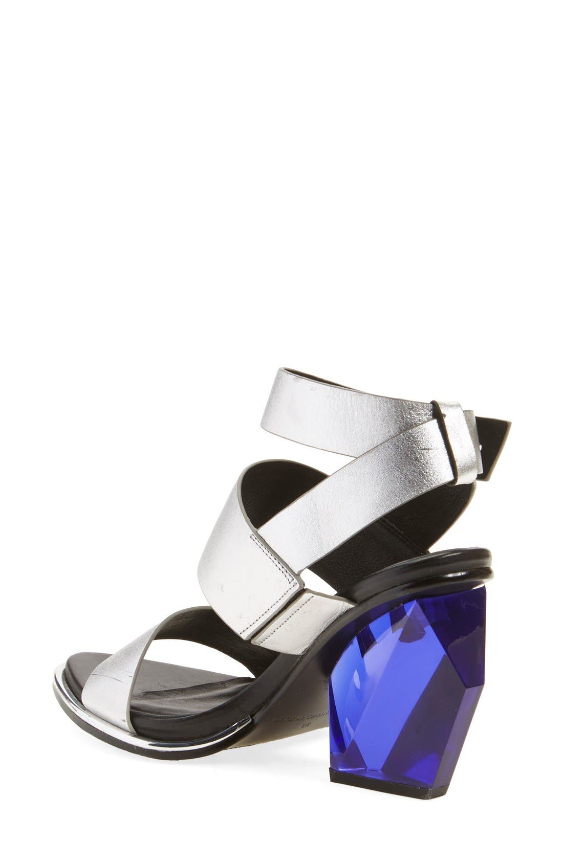 UNITED NUDE COLLECTION,                             'Leona Hi' Ankle Strap Sandal,                             Alternate thumbnail 2, color,                             040