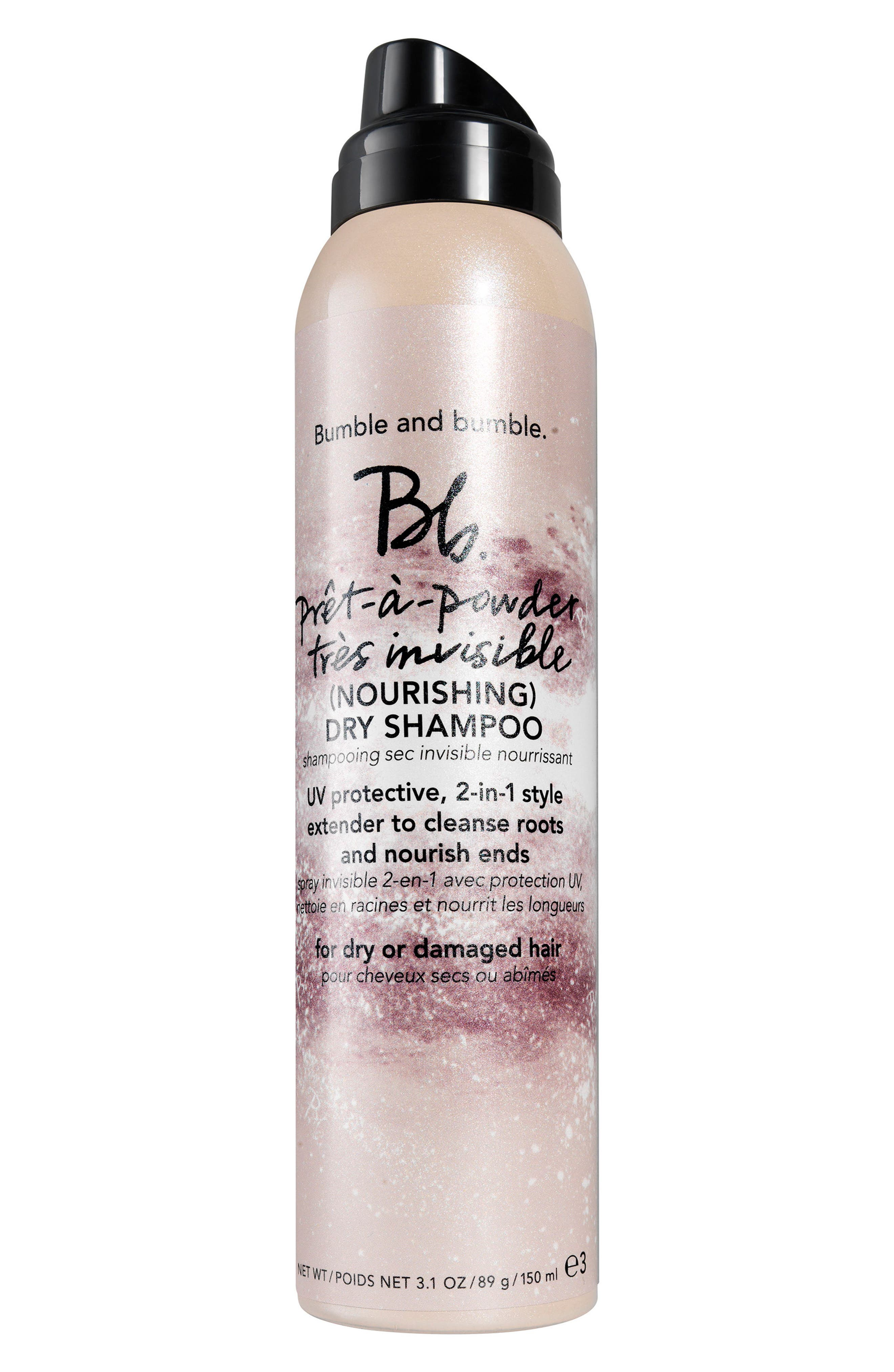 Prêt-a-Powder Très Invisible Nourishing Dry Shampoo,                         Main,                         color, NO COLOR