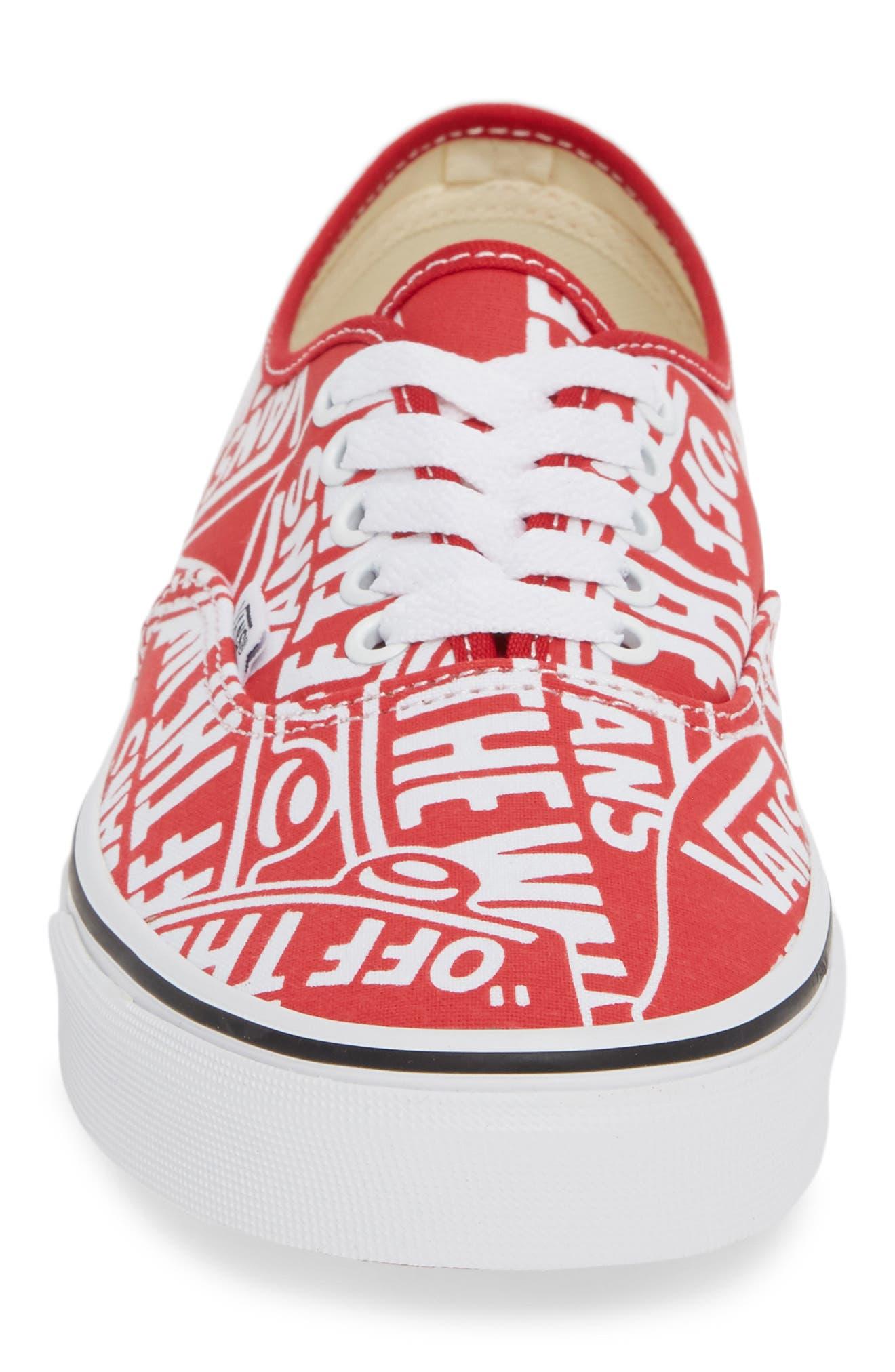 Authentic Sneaker,                             Alternate thumbnail 4, color,                             610