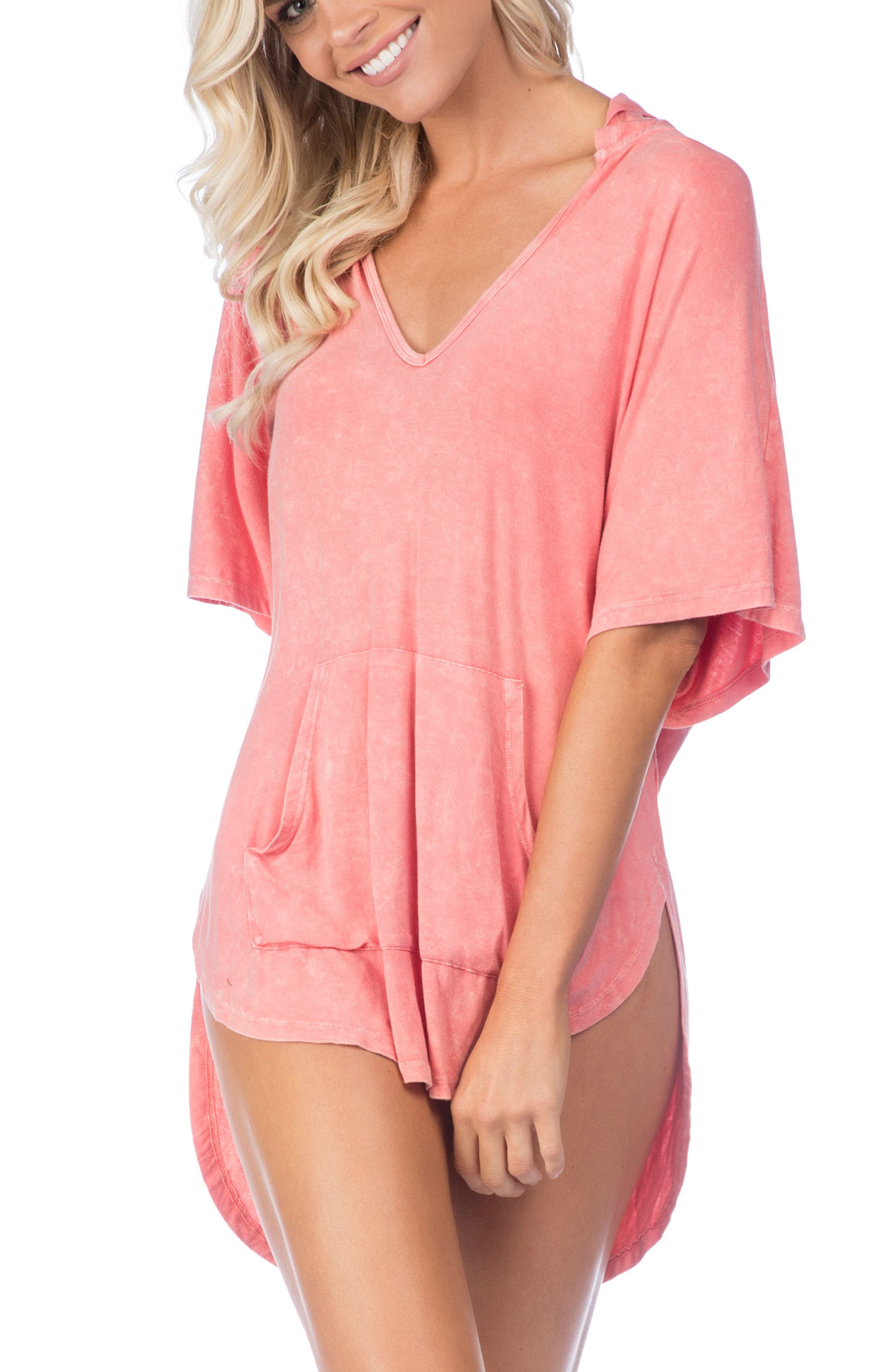 Riviera Hooded Cover-Up,                             Main thumbnail 2, color,