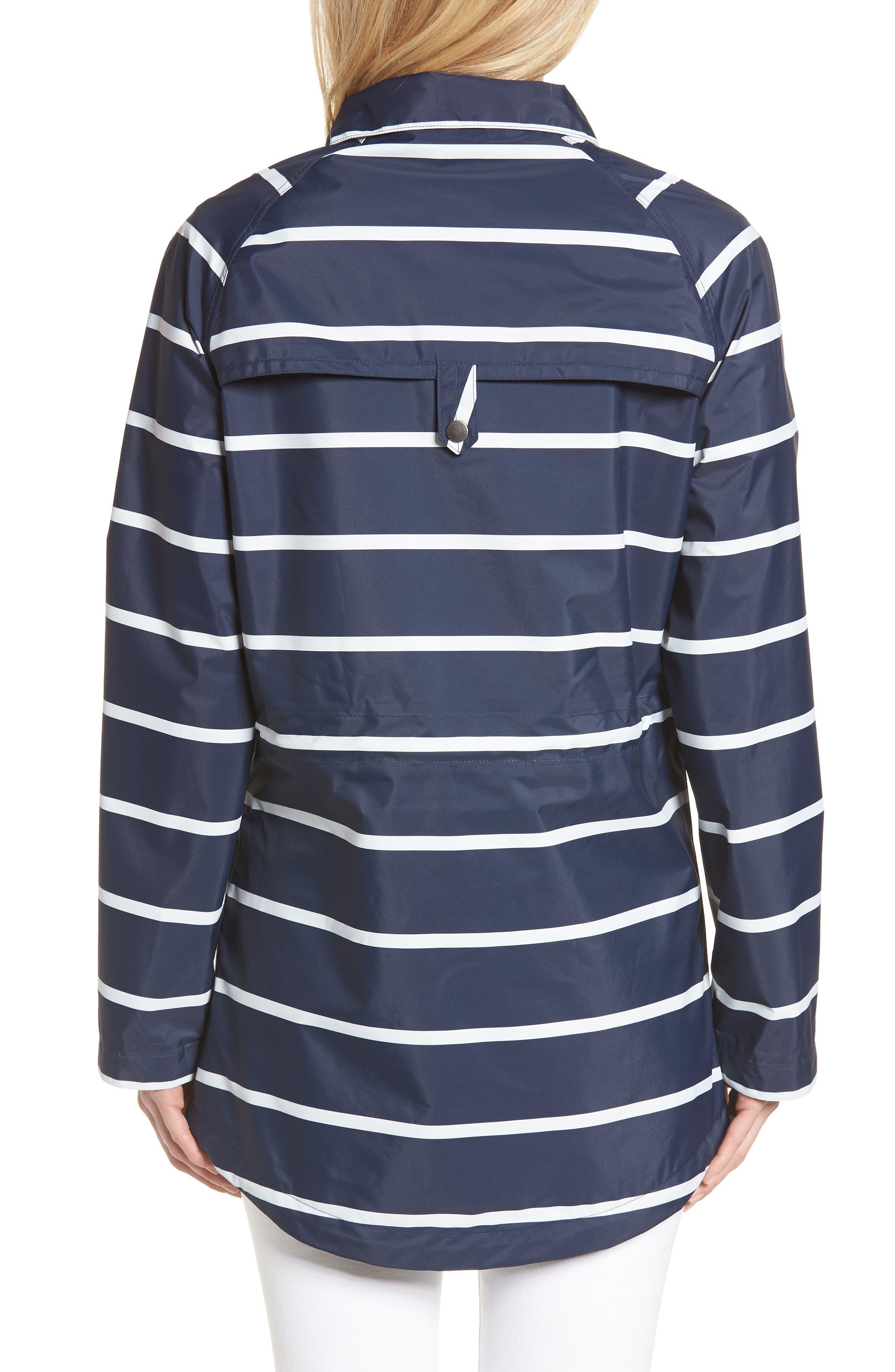 Holliwell Stripe Hooded Jacket,                             Alternate thumbnail 2, color,                             410