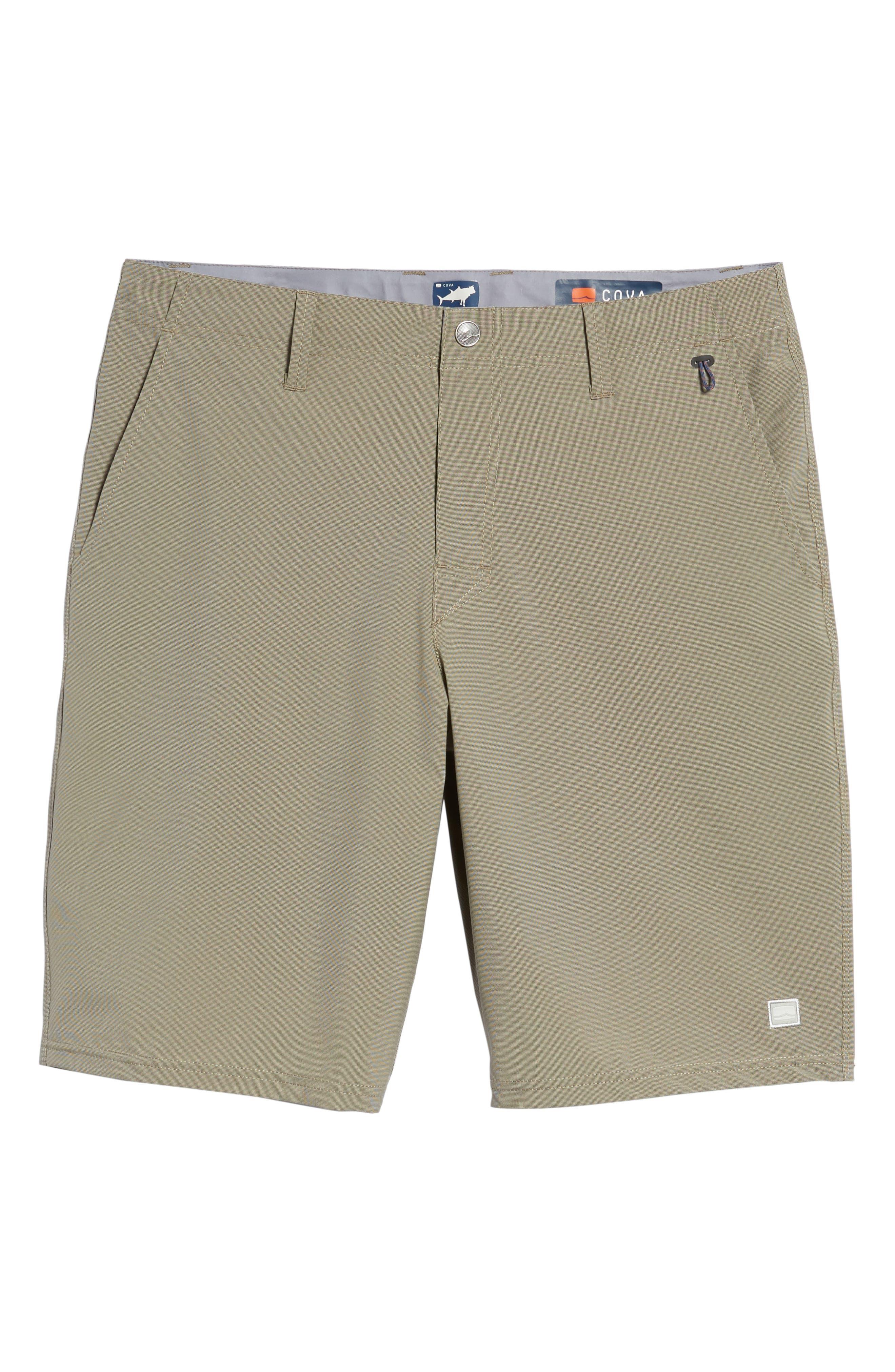 Seaside Hybrid Shorts,                             Alternate thumbnail 6, color,                             ESPRESSO