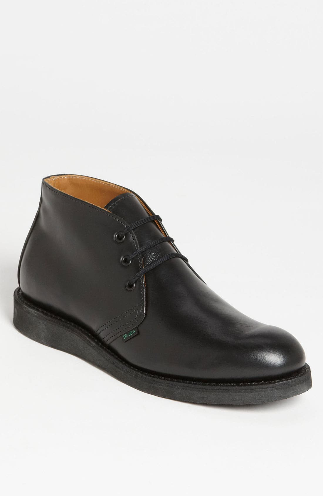 'Postman' Chukka Boot,                             Main thumbnail 1, color,                             BLACK CHAPARRAL- 9196