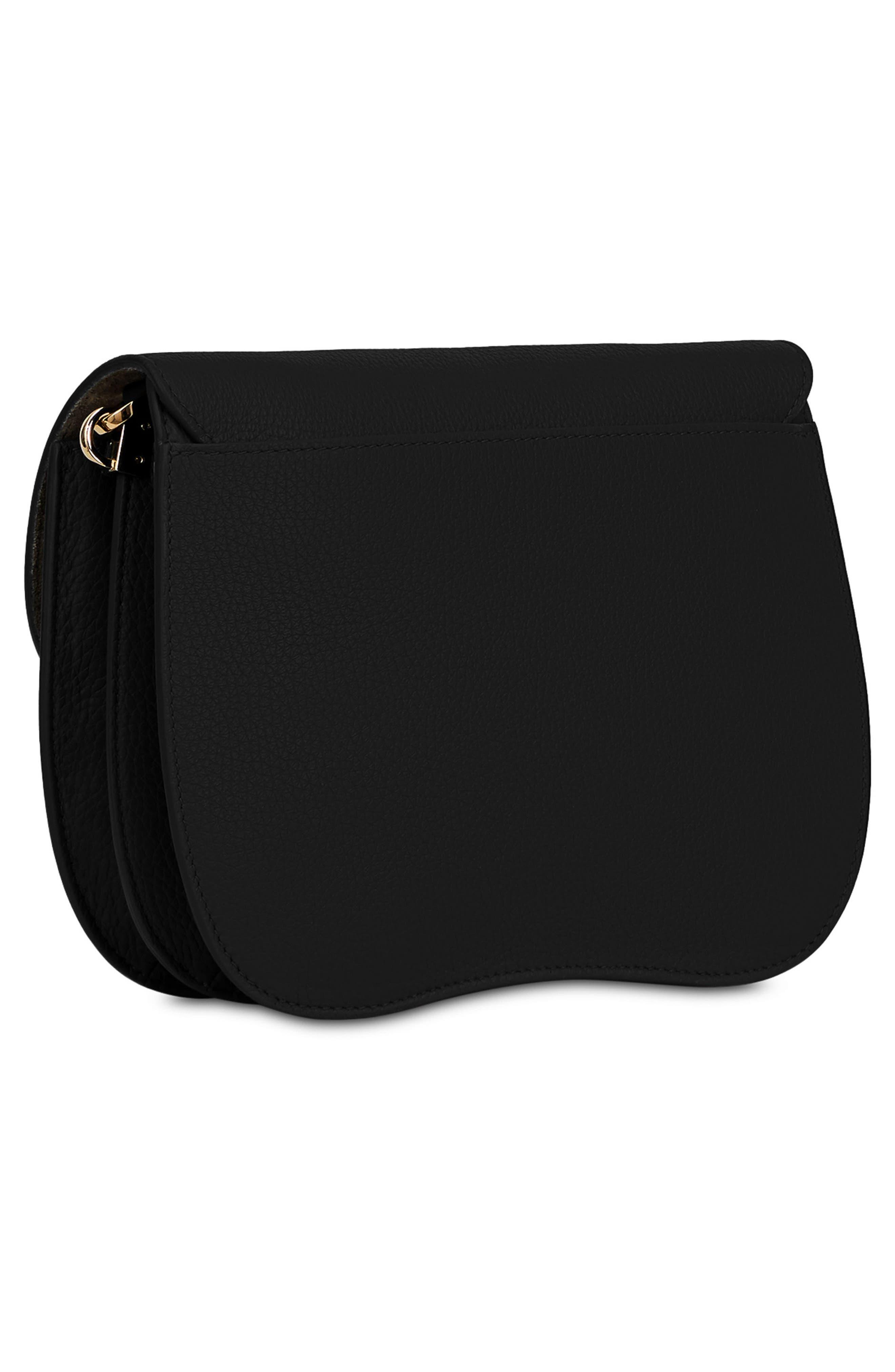 FURLA,                             Small Metropolis Leather Crossbody Bag,                             Alternate thumbnail 2, color,                             001