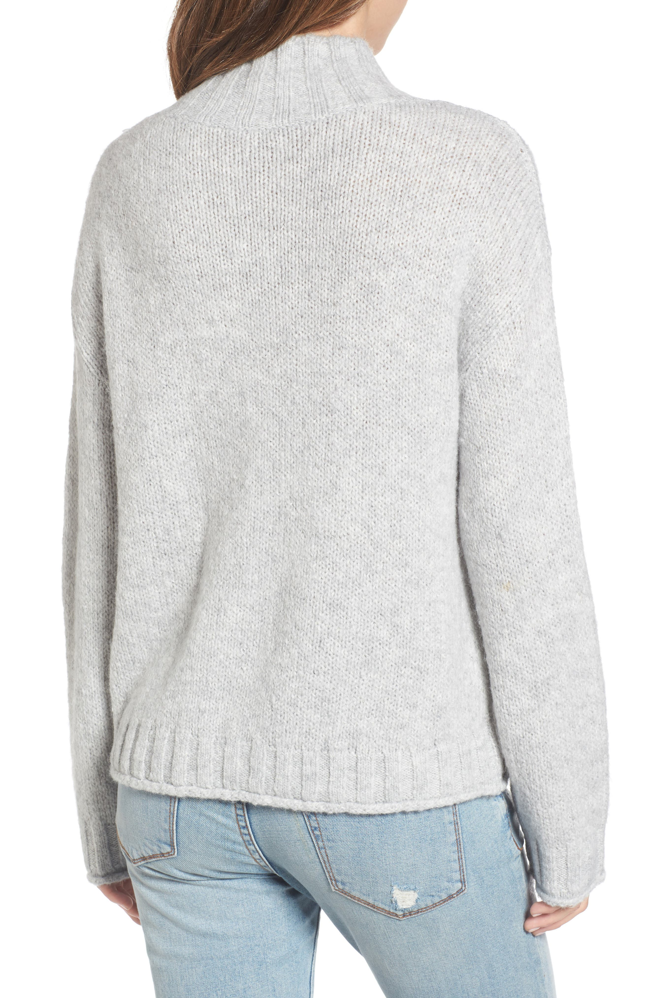 Cozy Mock Neck Sweater,                             Alternate thumbnail 11, color,