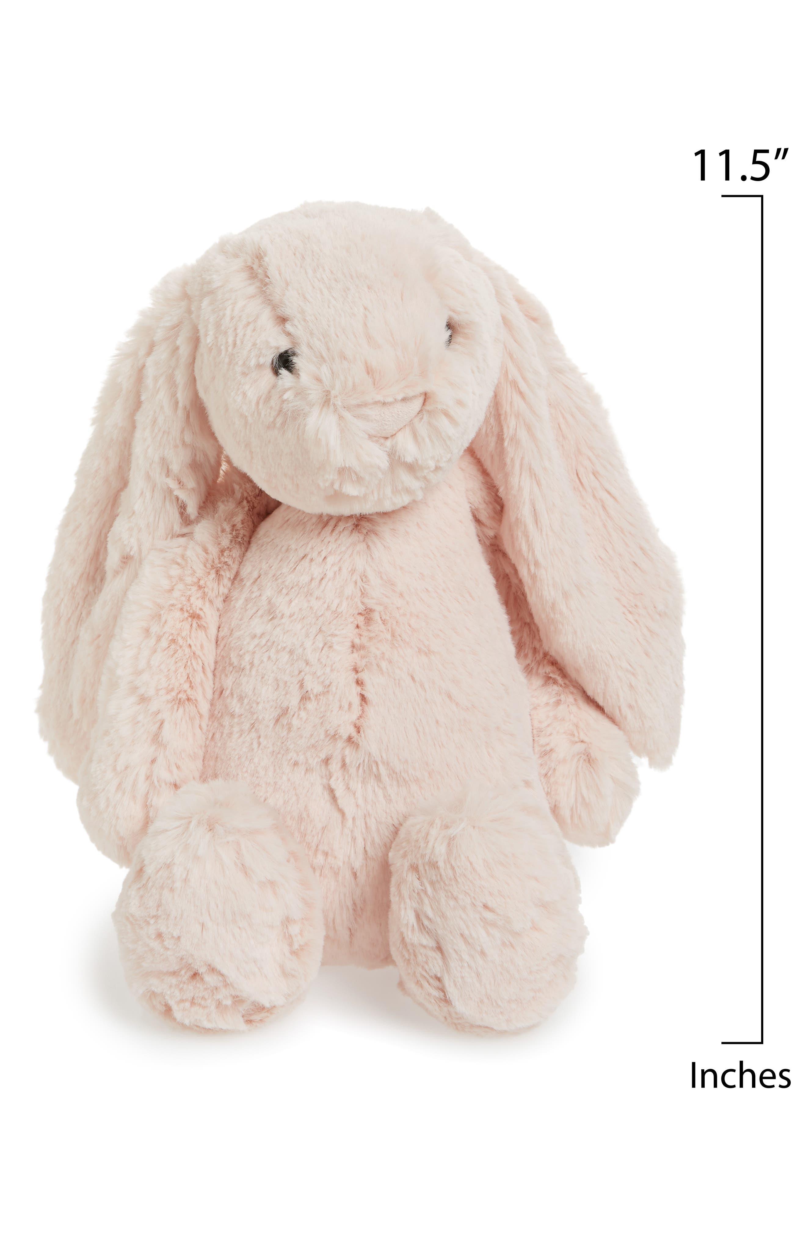 JELLYCAT,                             Bashful Bunny Blush Stuffed Animal,                             Alternate thumbnail 2, color,                             BLUSH