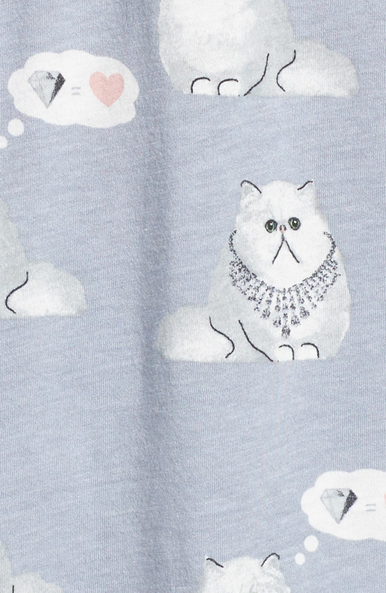 Playful Print Pajamas & Eye Mask,                             Alternate thumbnail 5, color,                             065