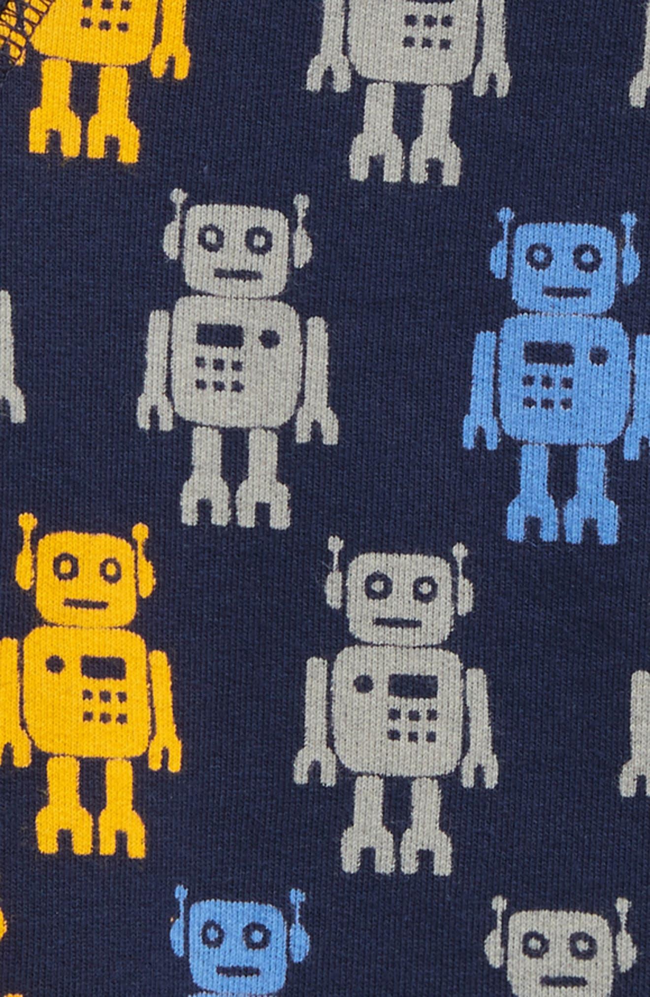 Robot Crewneck Sweatshirt,                             Alternate thumbnail 2, color,