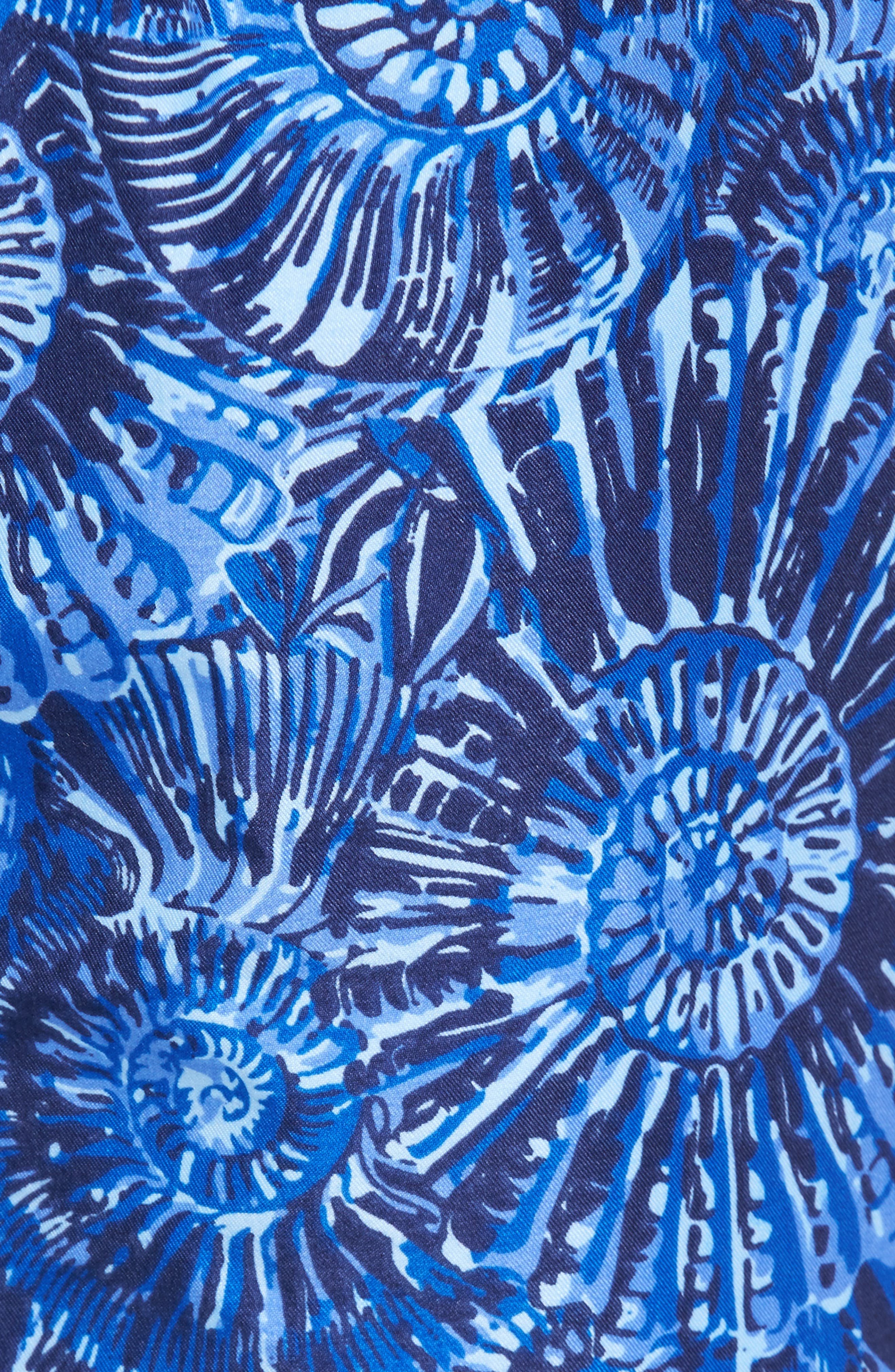 Tabby Shells Swim Trunks,                             Alternate thumbnail 5, color,                             424
