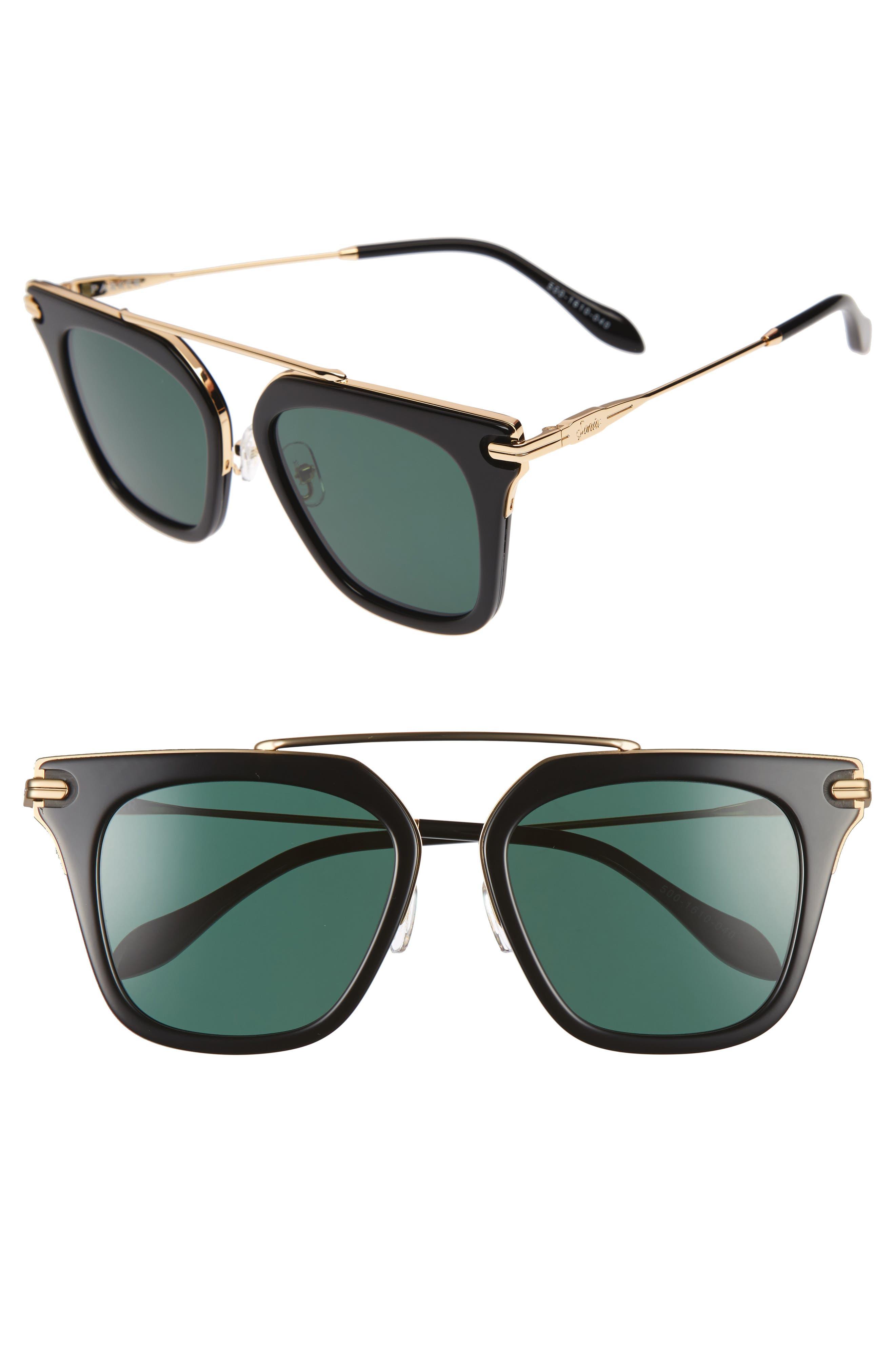 Parker 55mm Sunglasses,                             Main thumbnail 1, color,                             001