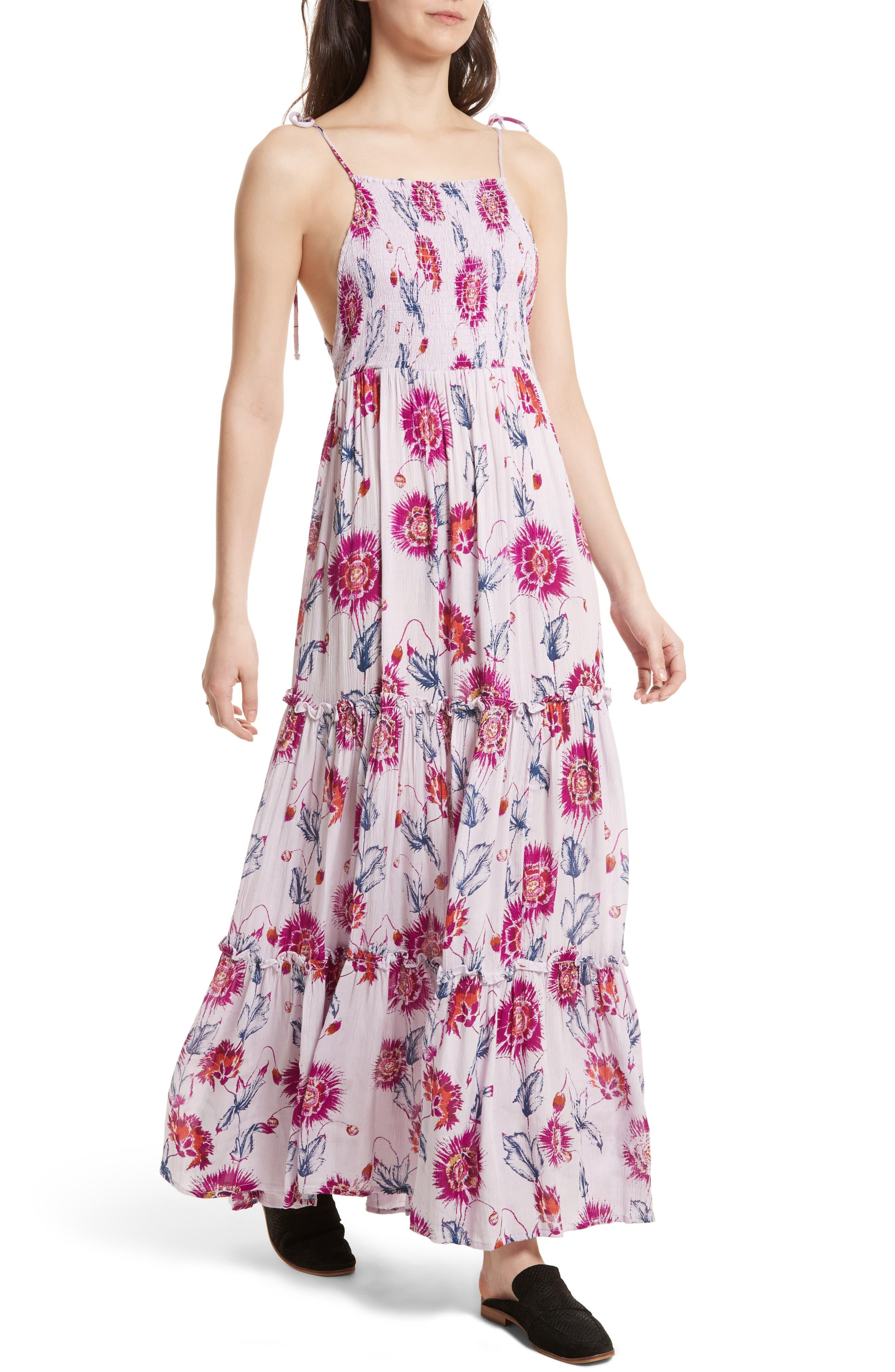 Garden Party Maxi Dress,                             Alternate thumbnail 27, color,