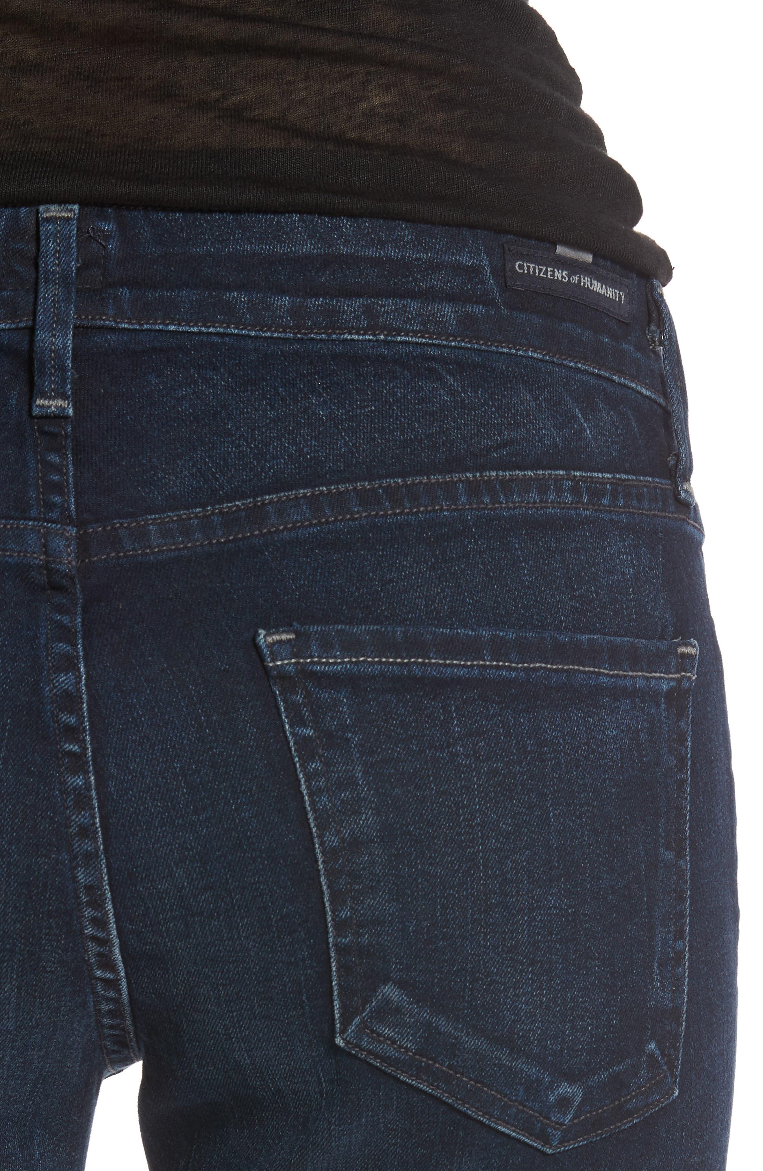 Arielle Skinny Jeans,                             Alternate thumbnail 4, color,                             406