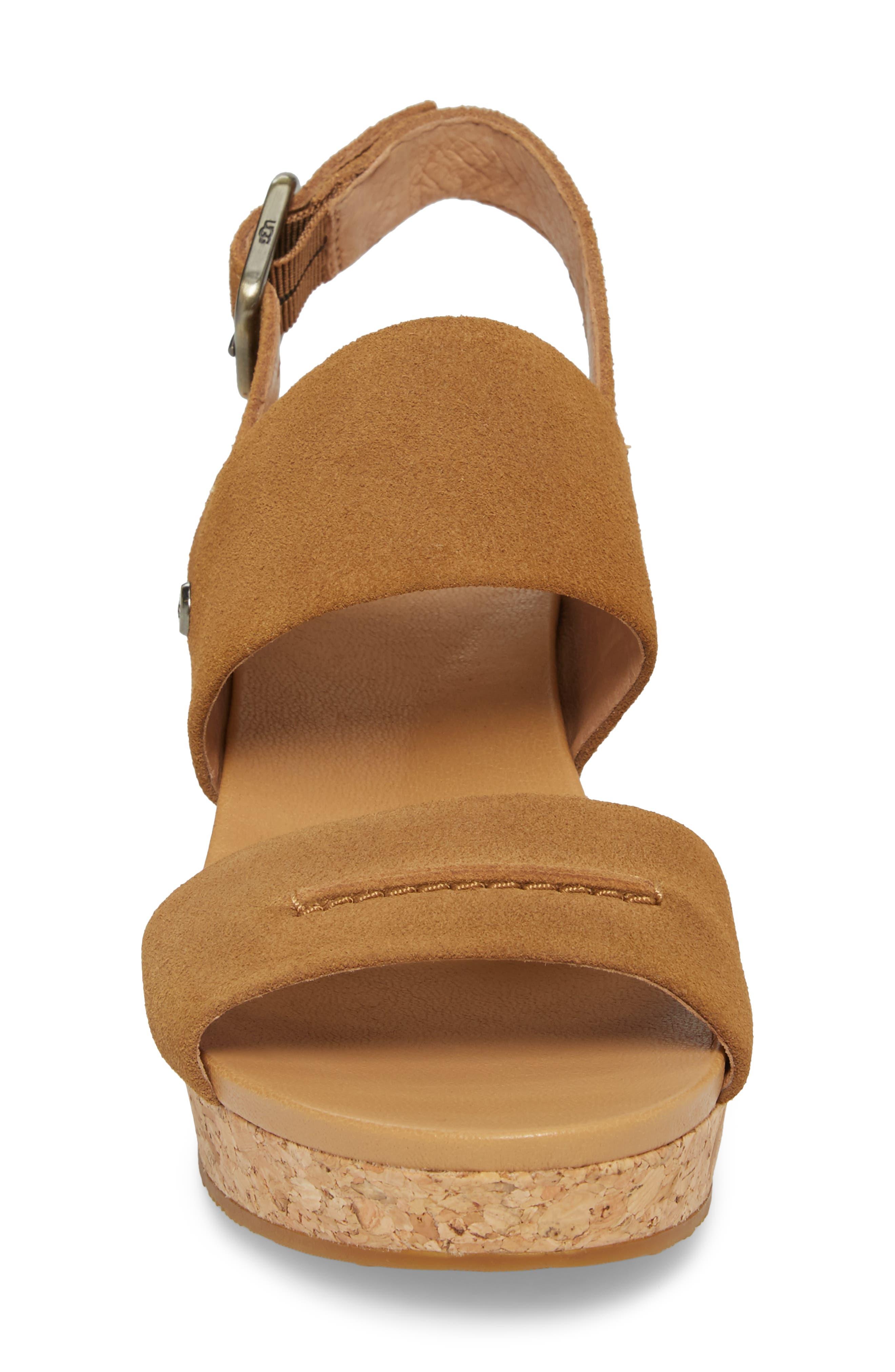 Elena II Platform Wedge Sandal,                             Alternate thumbnail 11, color,