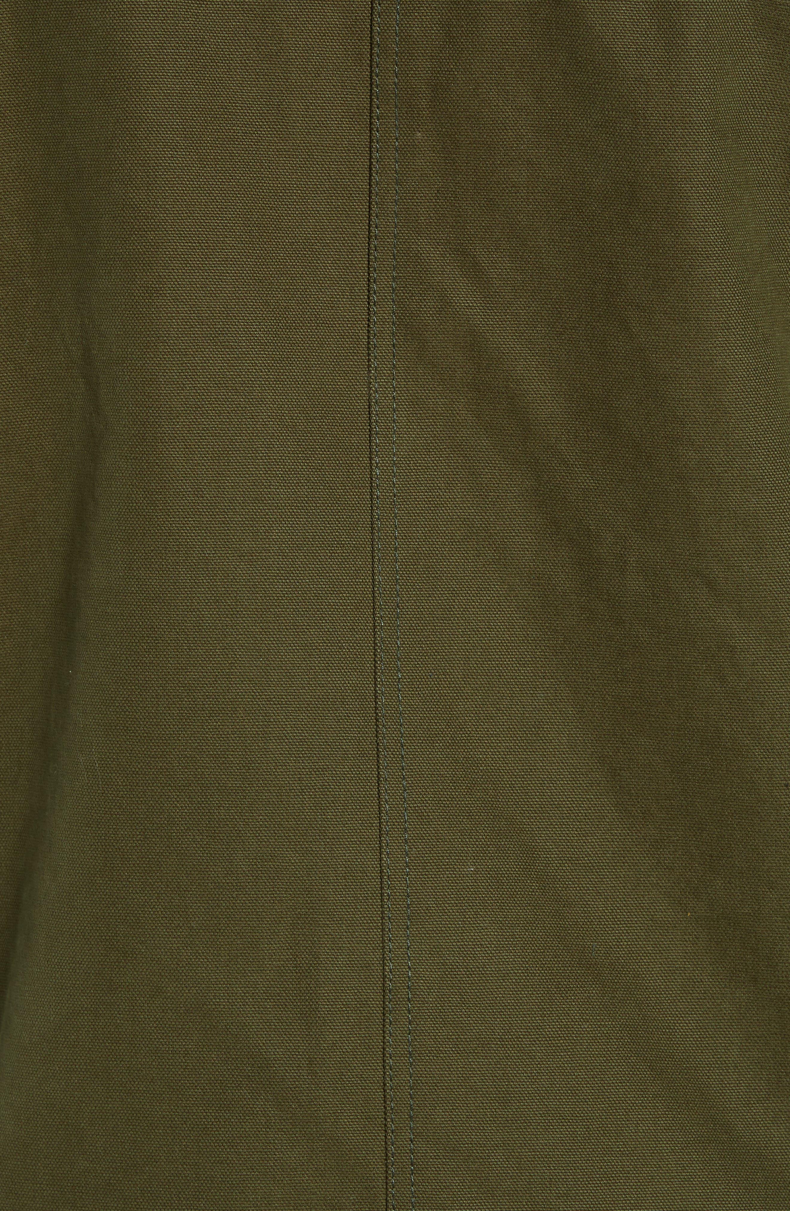 Dry Goods Cascade Raincoat,                             Alternate thumbnail 7, color,                             OLIVE