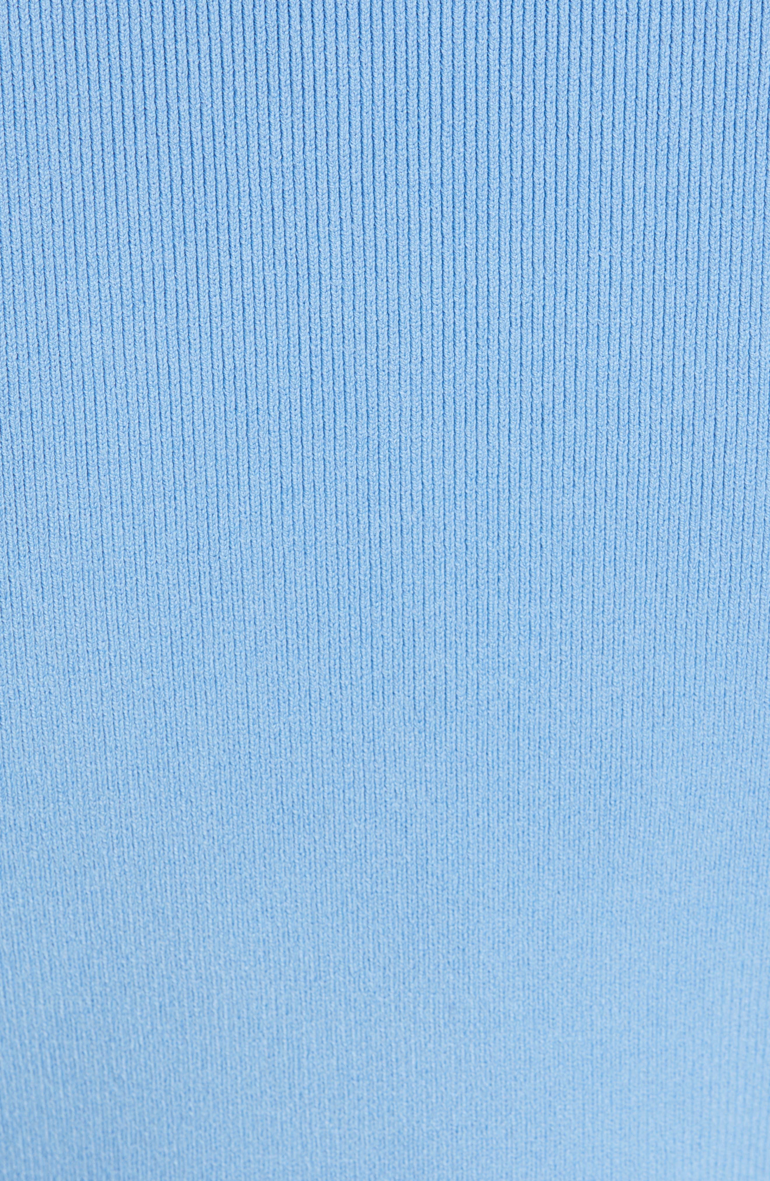 Knit Bolero,                             Alternate thumbnail 6, color,                             SKY