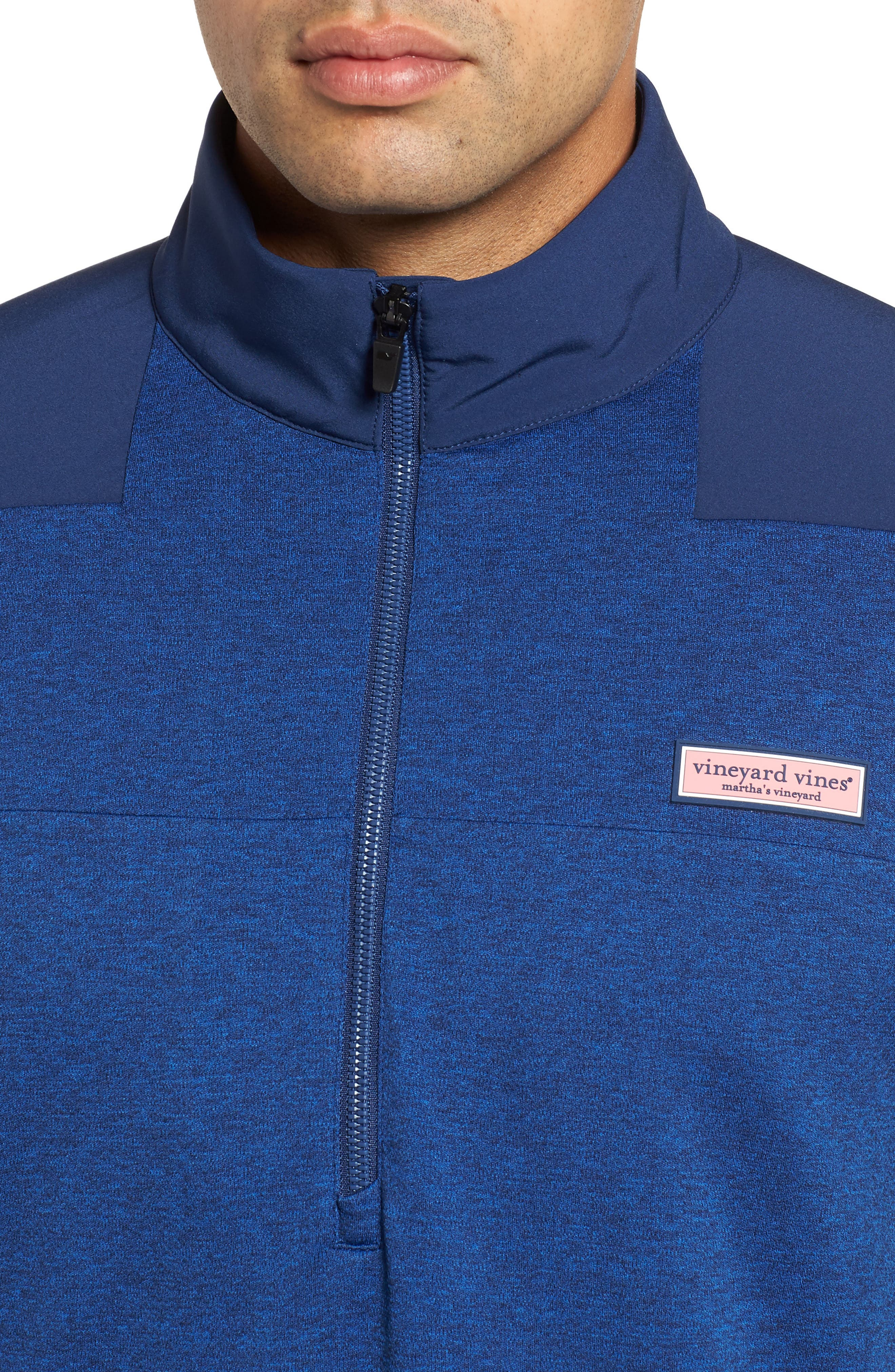 Performance Quarter Zip Pullover,                             Alternate thumbnail 12, color,