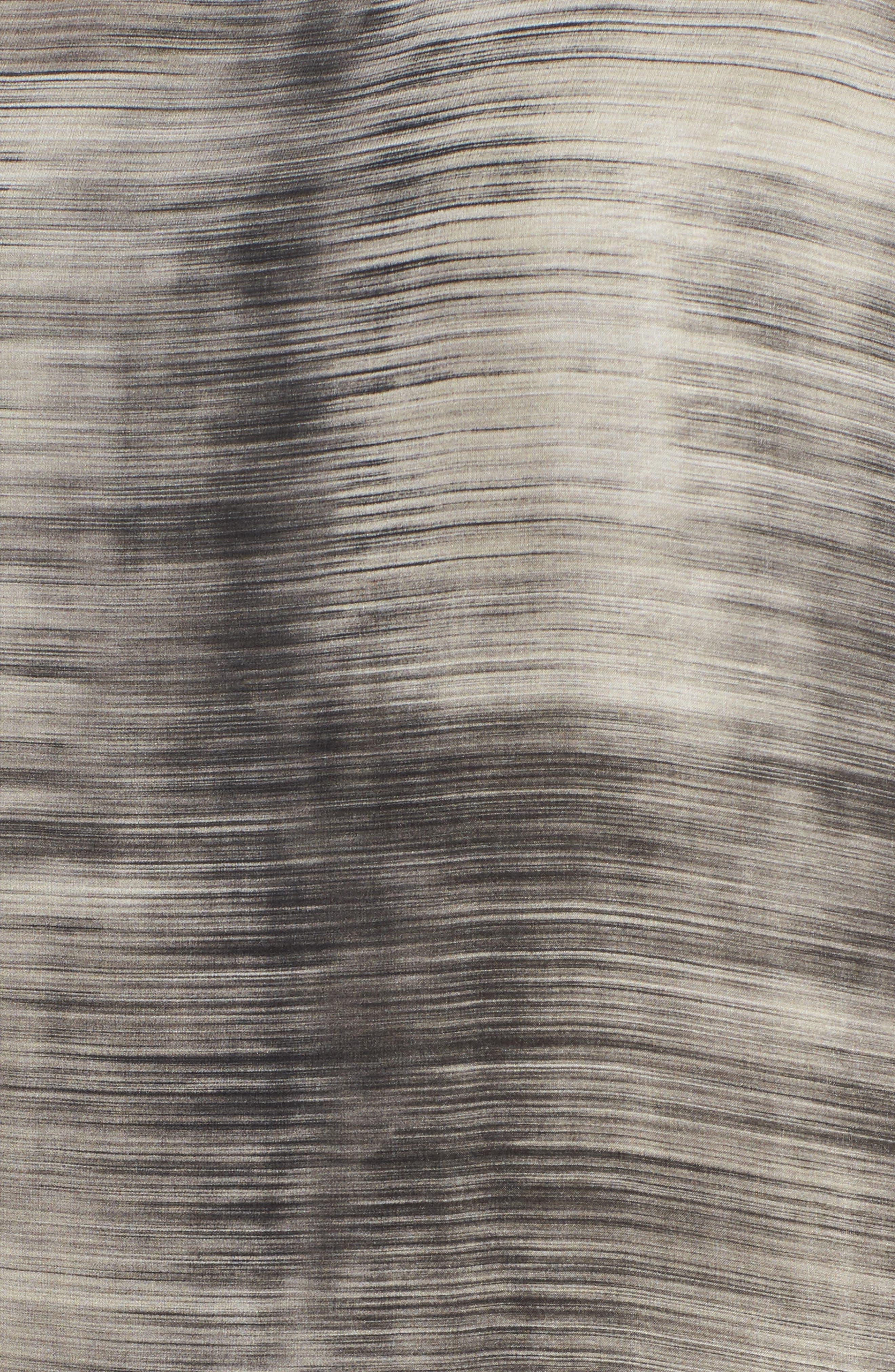 Bateau Neck Silk Shift Dress,                             Alternate thumbnail 10, color,