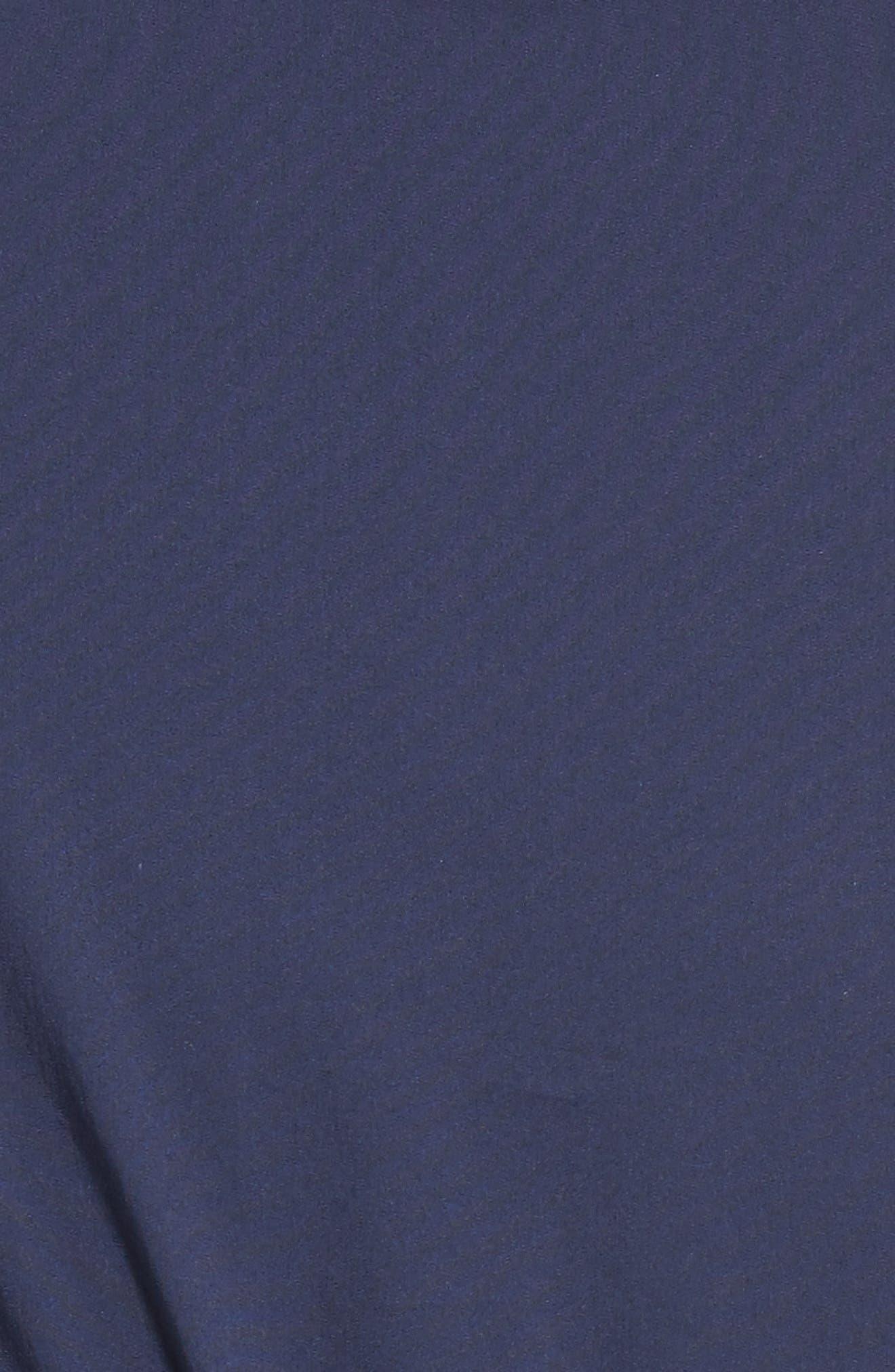 Pintuck Blouson Sleeve Wrap Top,                             Alternate thumbnail 5, color,                             410