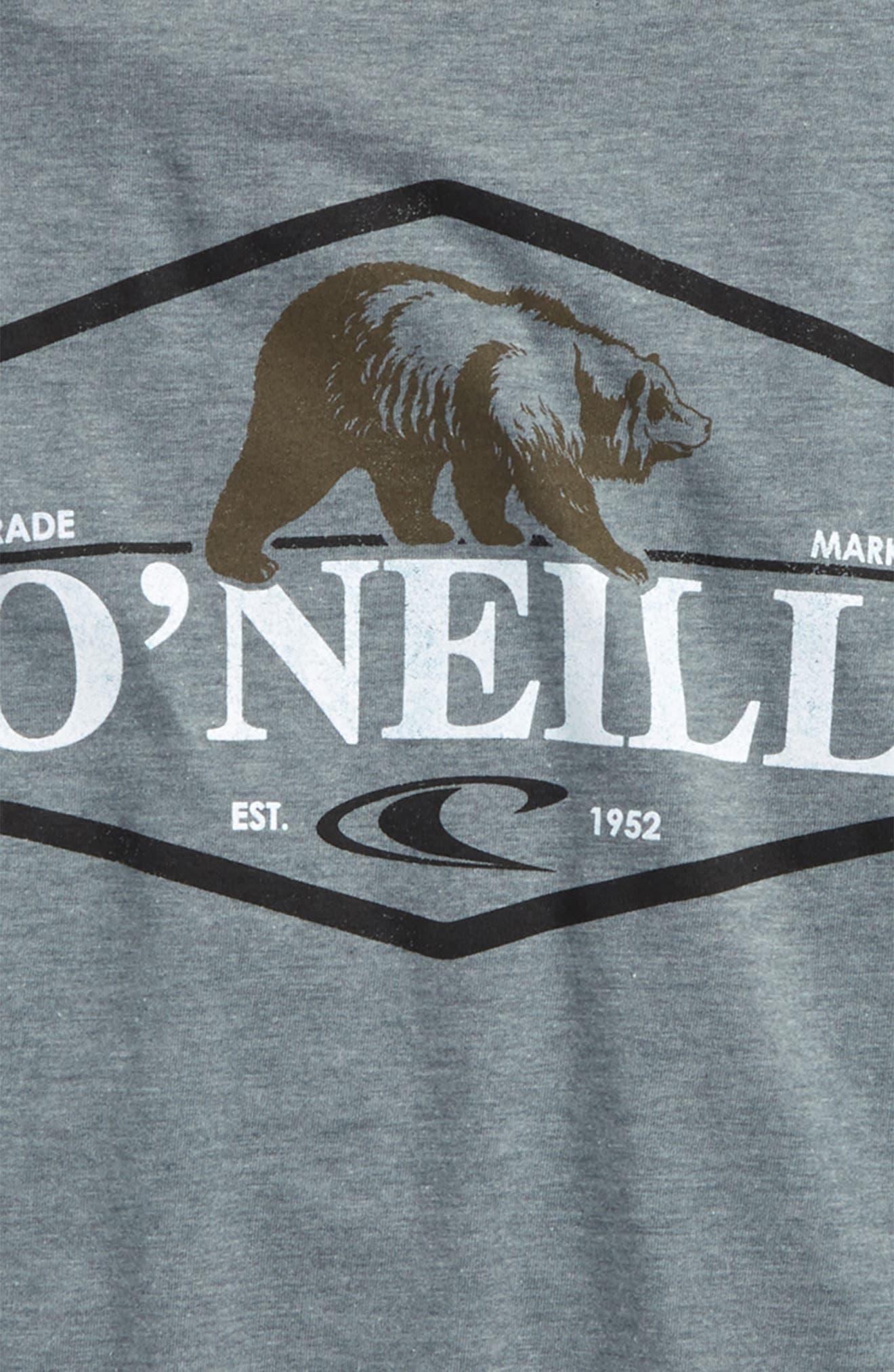 Grizzly Bear Logo Screenprint T-Shirt,                             Alternate thumbnail 8, color,