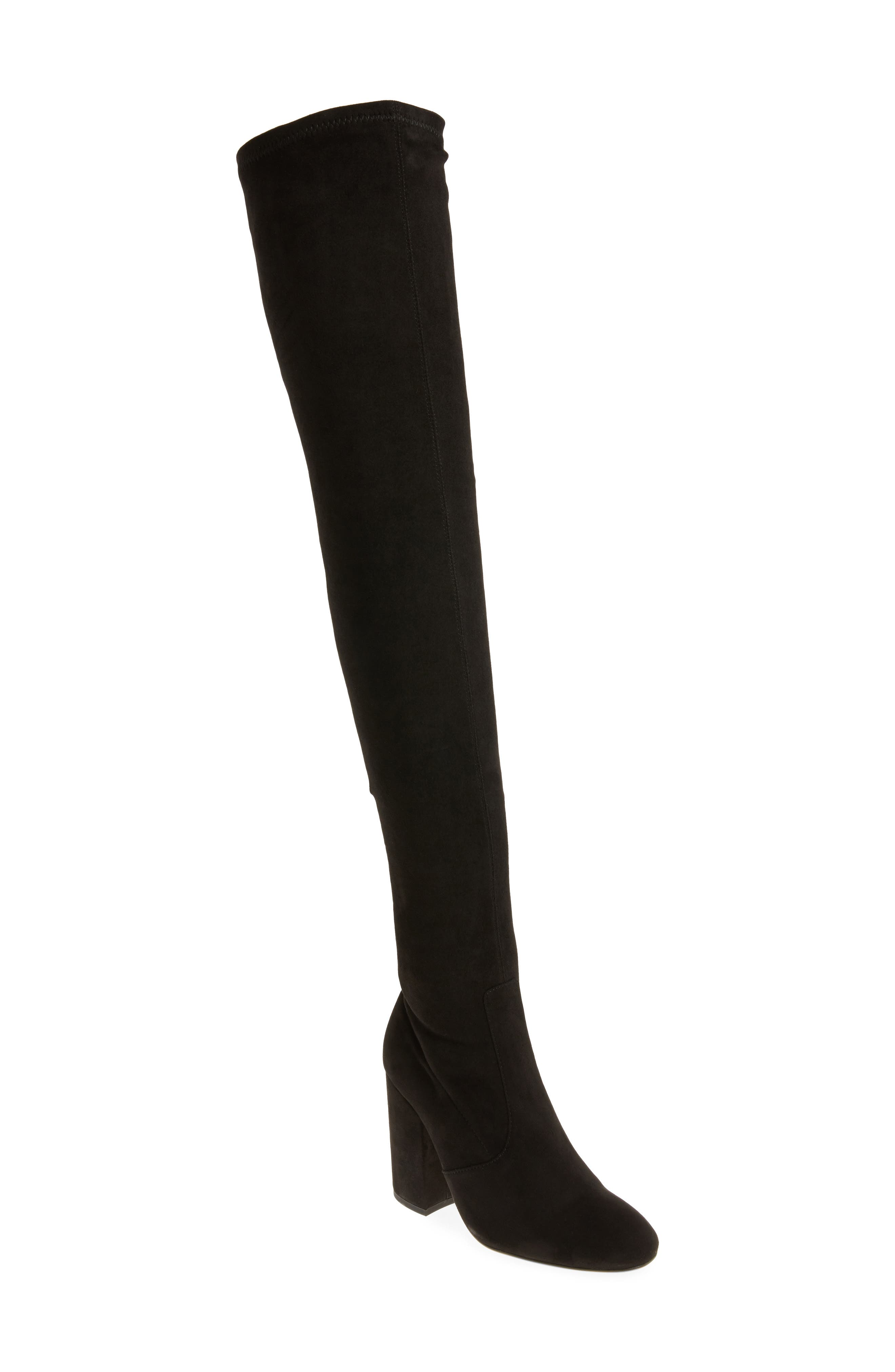 Athens Over the Knee Boot,                             Main thumbnail 1, color,                             001