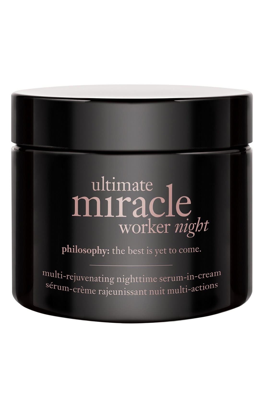'ultimate miracle worker night' multi-rejuvenating nighttime serum-in-cream,                             Main thumbnail 1, color,                             NO COLOR