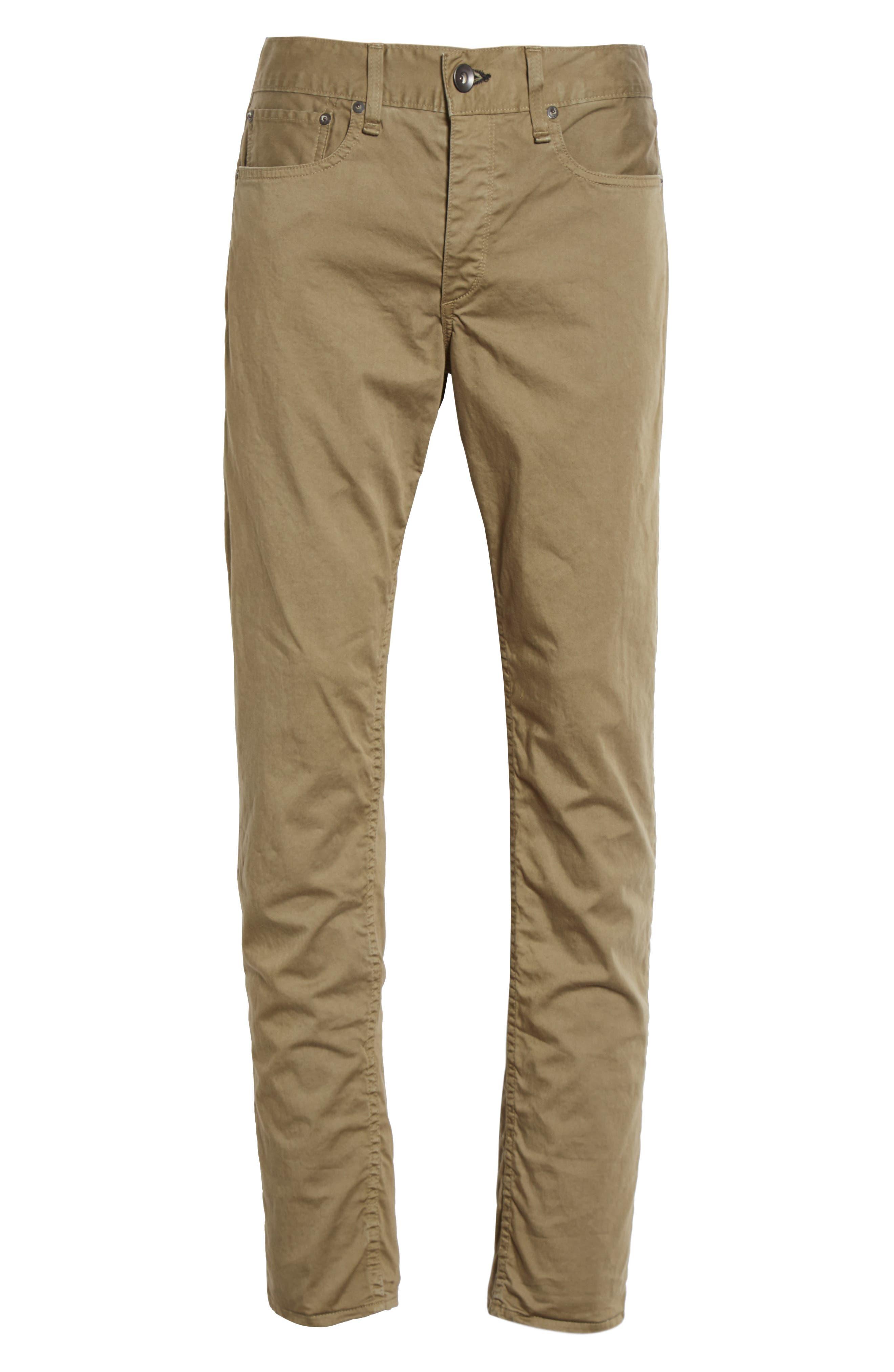 Fit 2 Five-Pocket Twill Pants,                             Alternate thumbnail 6, color,                             319