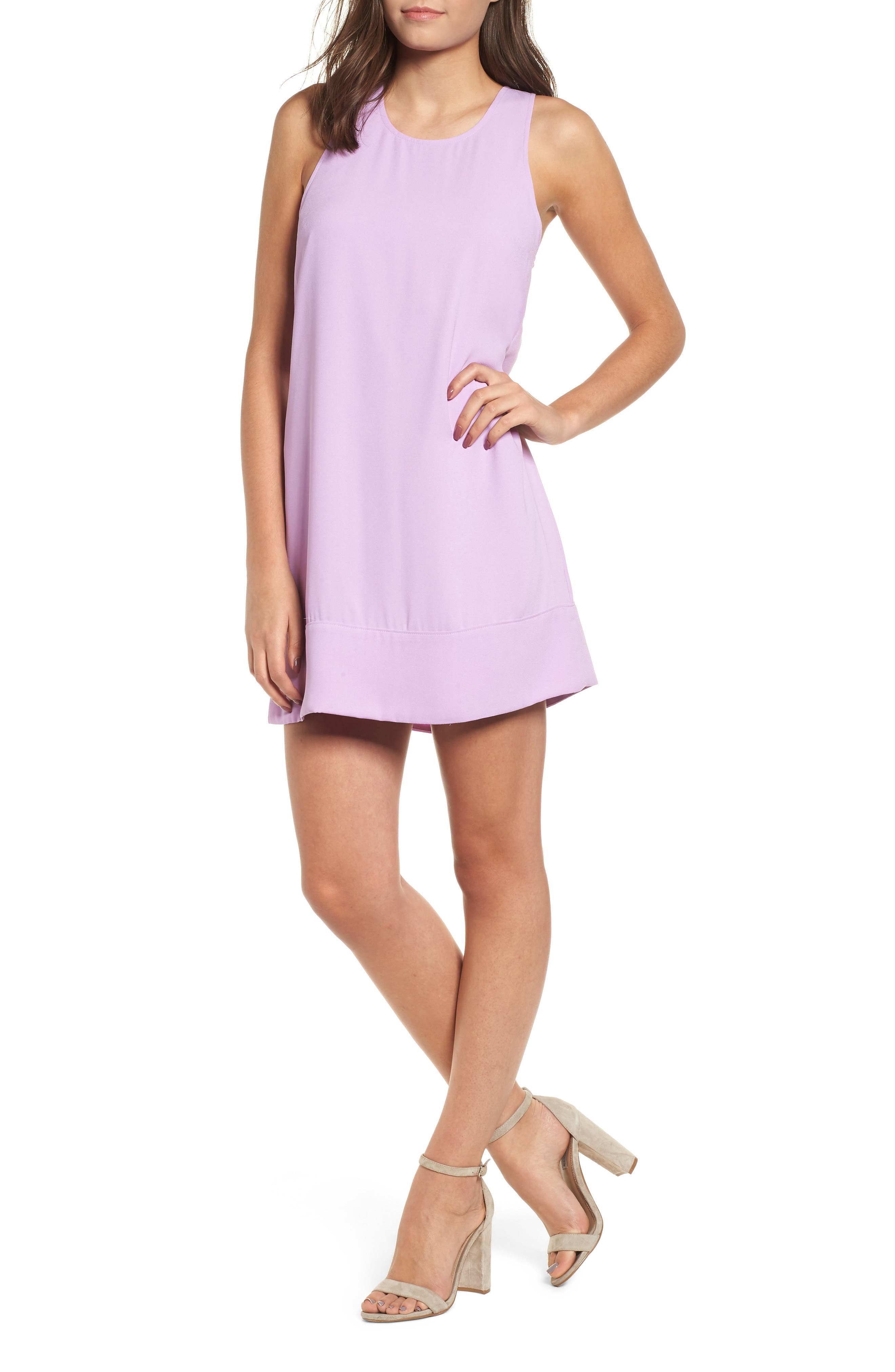 Racerback Shift Dress,                             Main thumbnail 18, color,