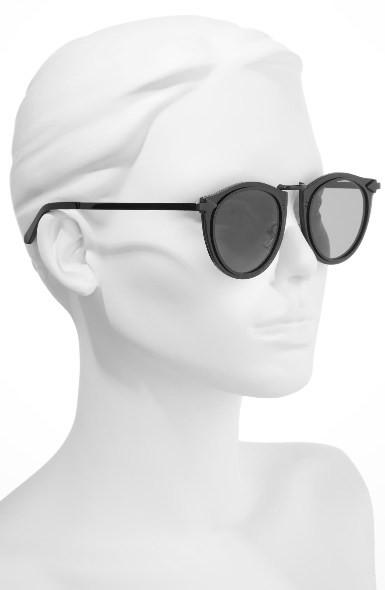 Superstars - Solar 50mm Retro Sunglasses,                             Alternate thumbnail 2, color,                             001