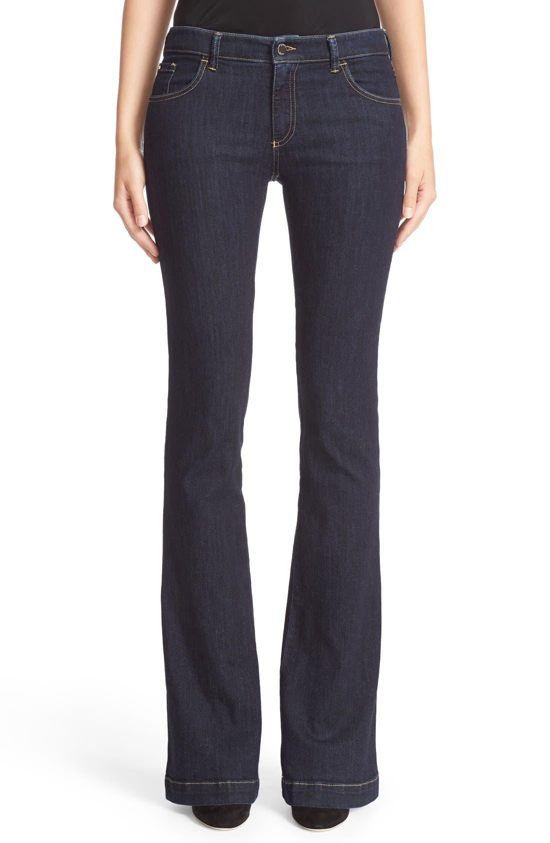 Armani Jeans Bootcut Jeans, Main, color, 400