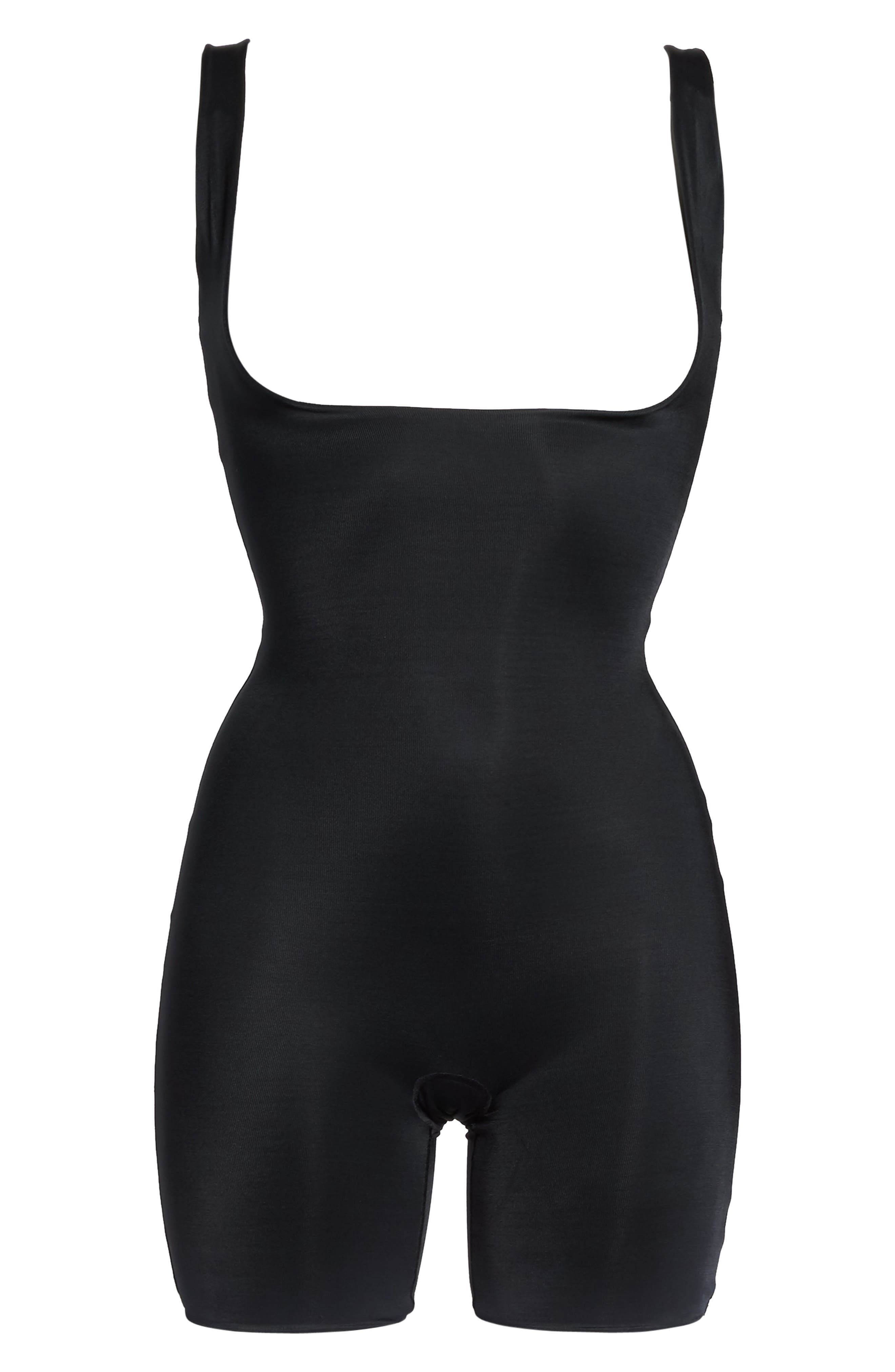 Power Conceal-Her Open Bust Bodysuit,                             Alternate thumbnail 6, color,                             019