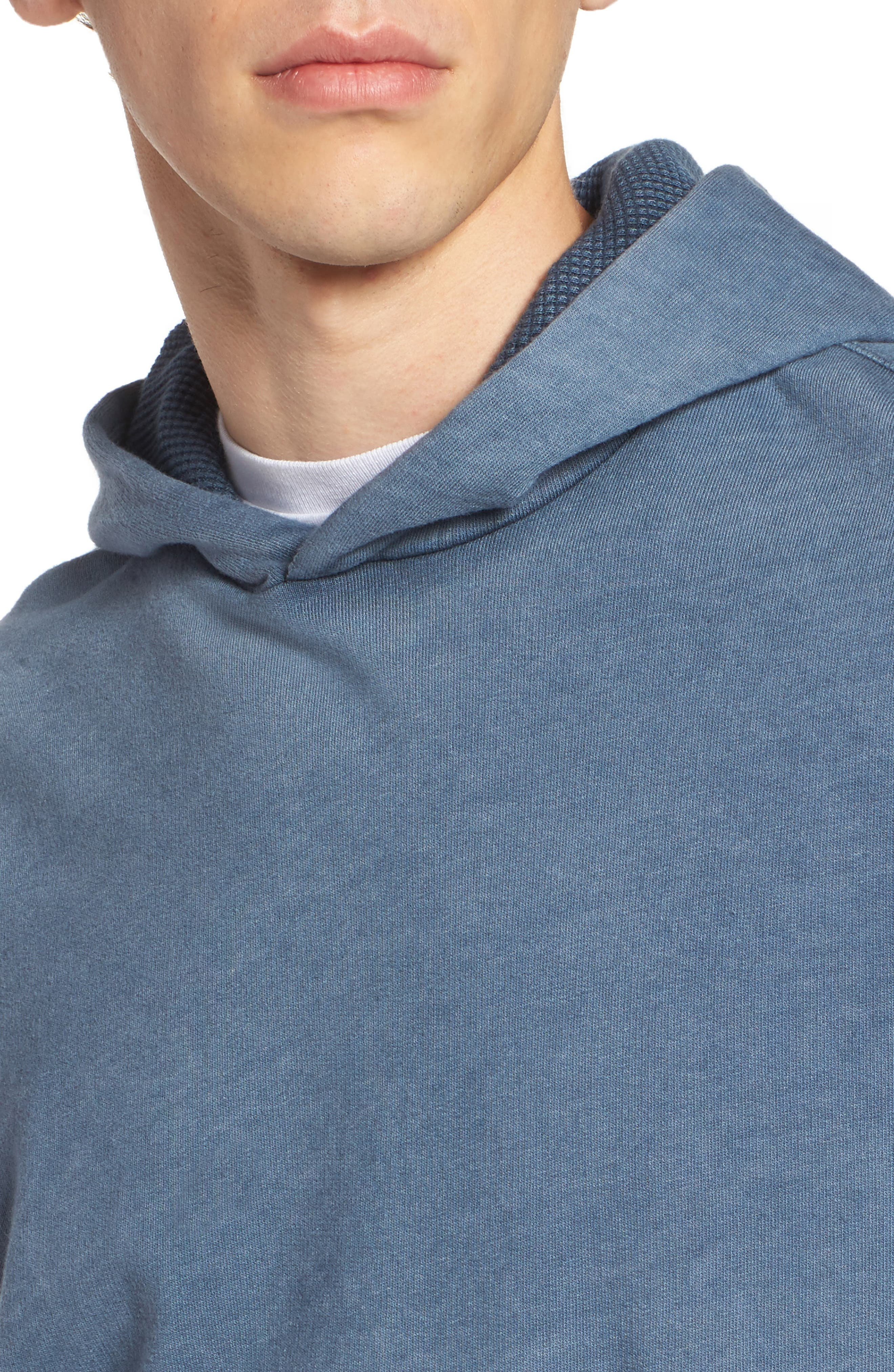Max Slim Pullover Hoodie,                             Alternate thumbnail 4, color,                             406